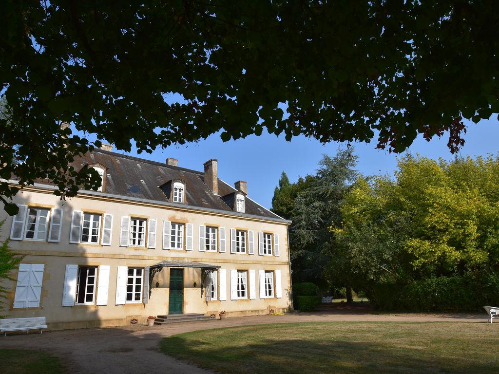Ferienhaus Atemberaubende Villa in Burgund mit privatem Swimmingpool (612736), Bourbon Lancy, Saône-et-Loire, Burgund, Frankreich, Bild 3