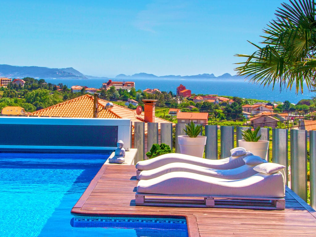 Ferienhaus Panoramablick auf das Meer: Villa in Sanxenxo mit Pool (620158), Portonovo, Rias Bajas, Galicien, Spanien, Bild 5