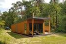 Luxus Lodge mit Klimaanlage und Geschirrspüler am See