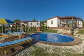 Holiday house with private pool No.1 in holiday park Jelovci