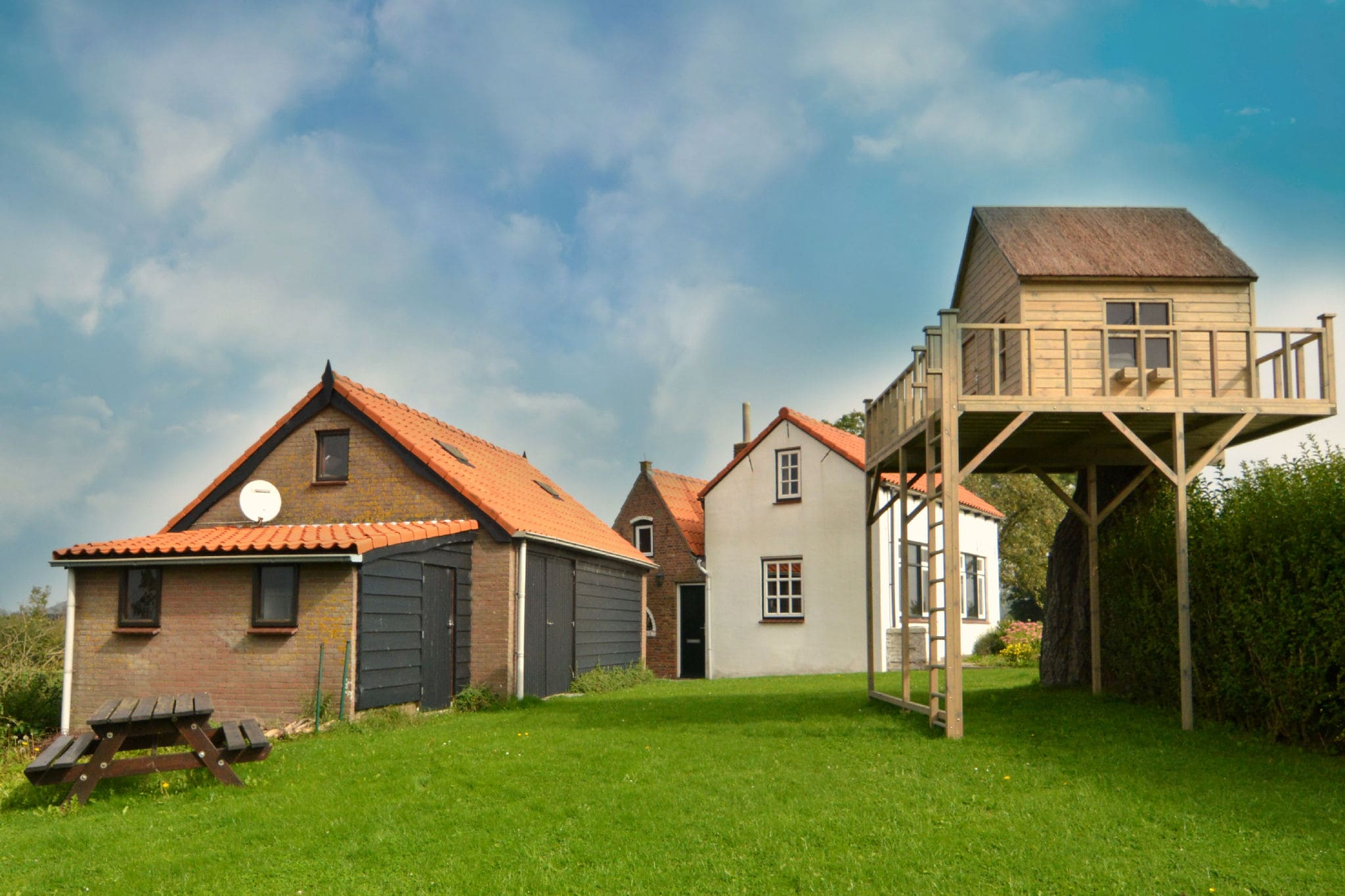 Ferienhaus De Boomhut Niederlande - Zeeland