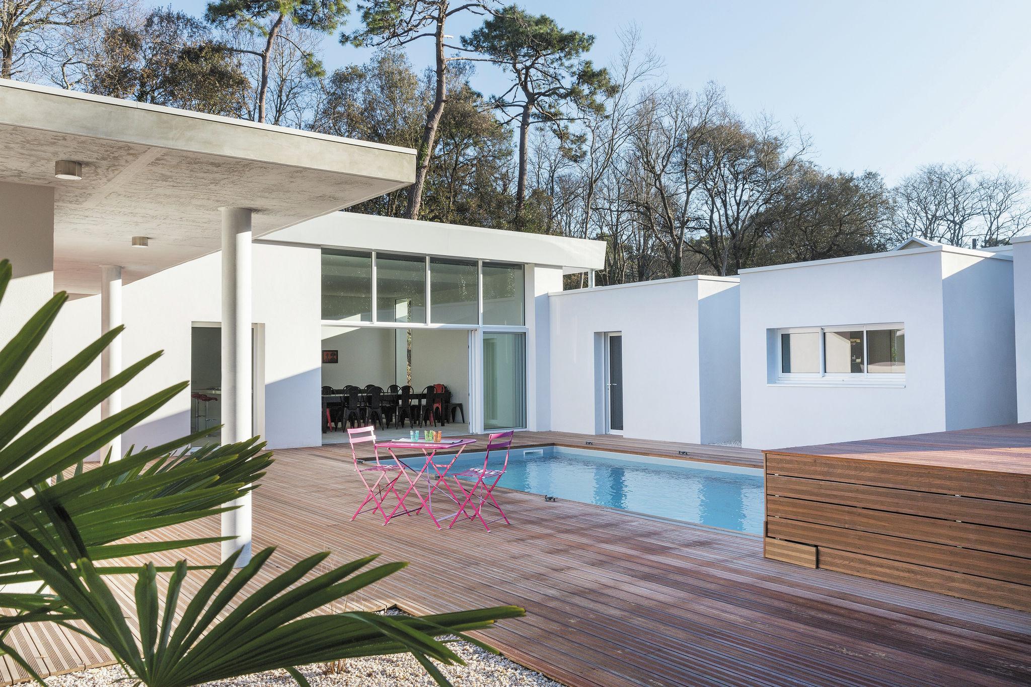 Maison d'architecte piscine et jacuzzi