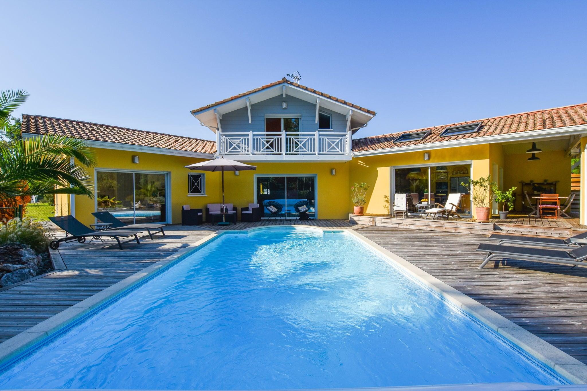 Villa sur la côte landaise