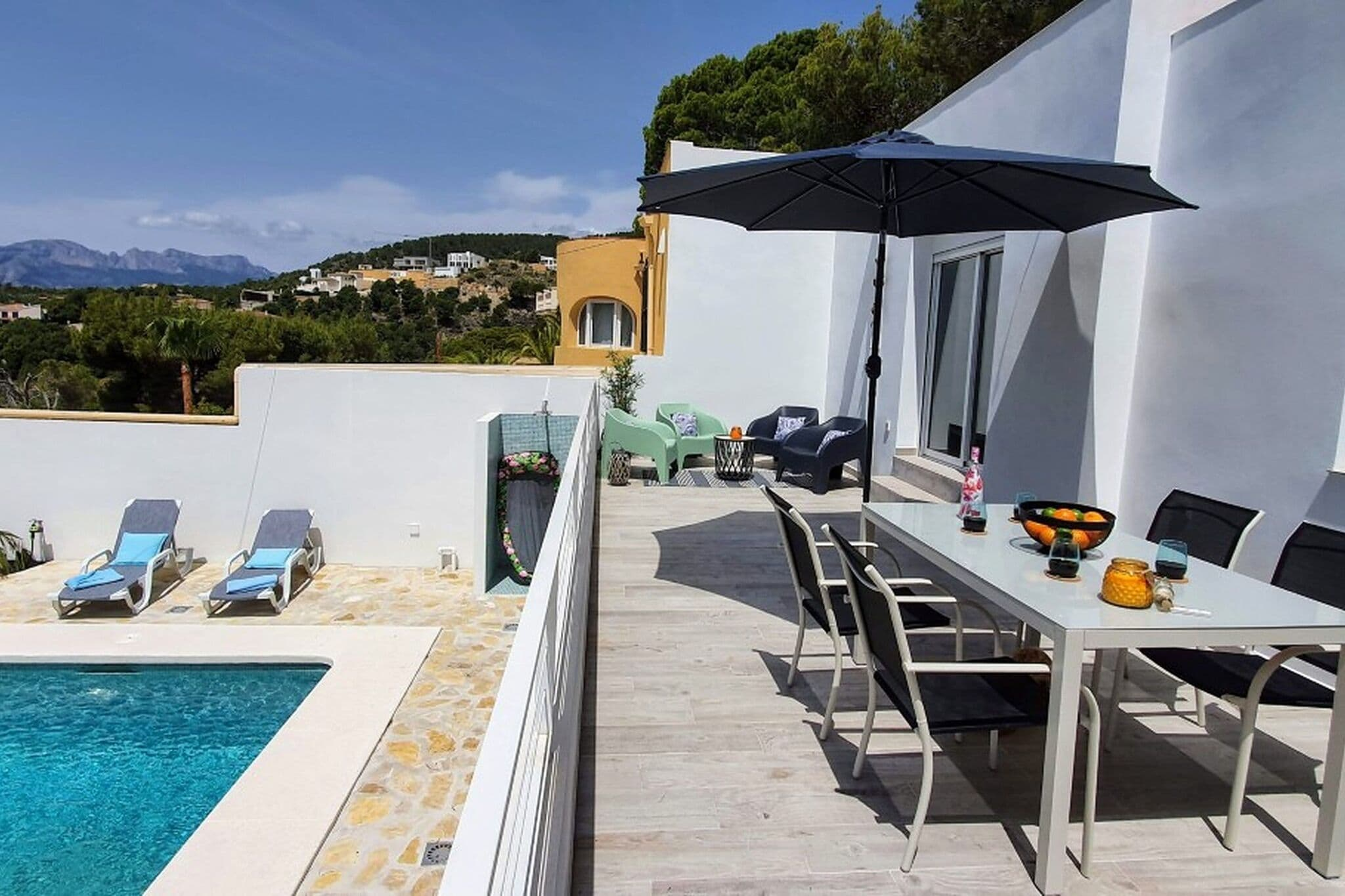 Beautiful holiday home in Altea near the Mediterranean Sea