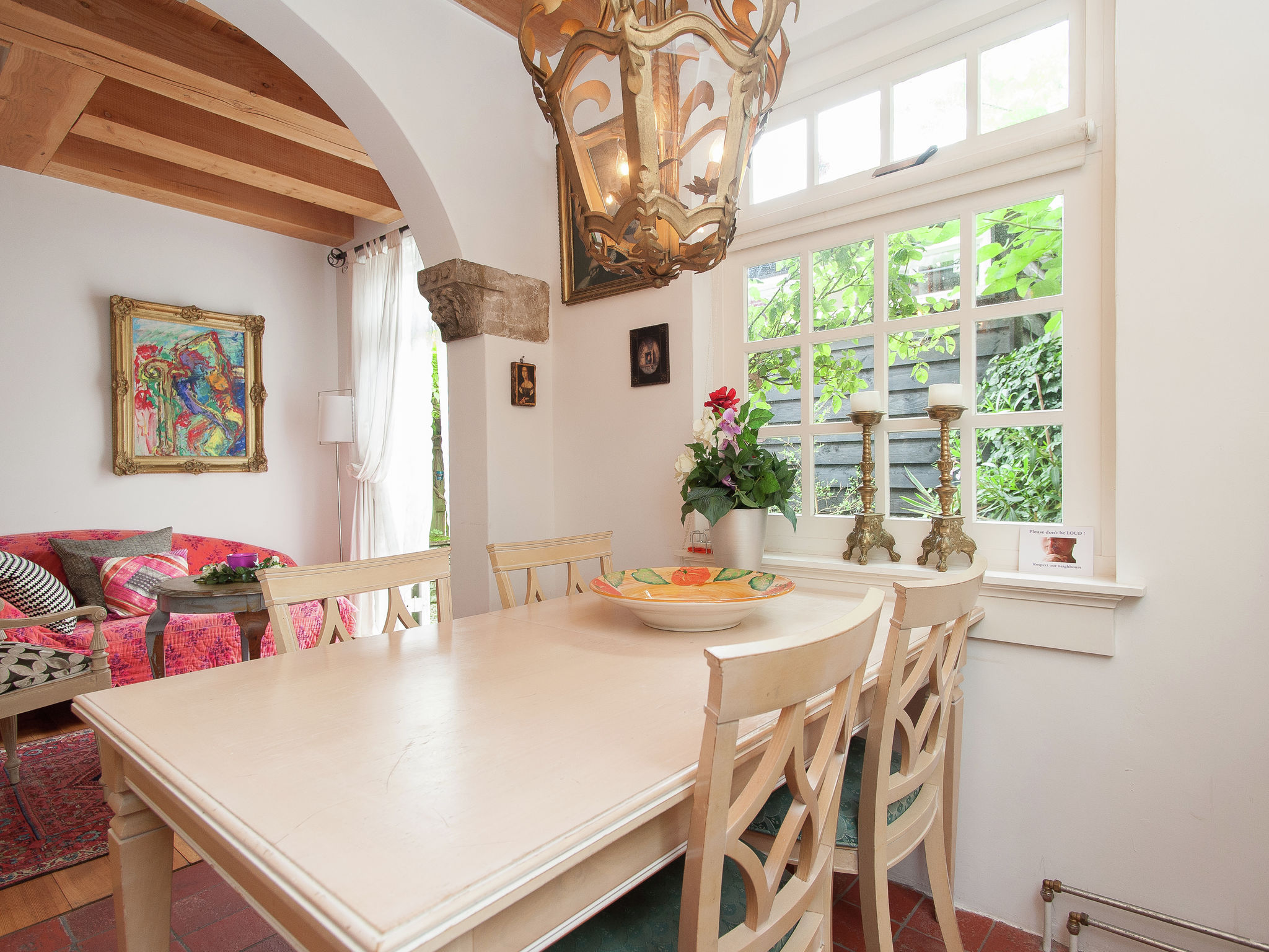 Holland | North Sea Coast North | Holiday home Charming Castle | all year | DiningRoom