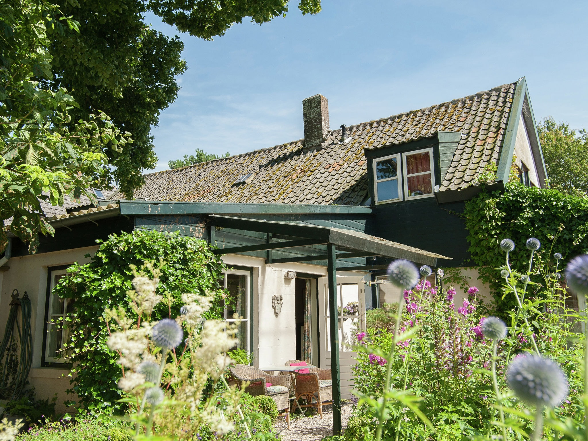 Holland | North Sea Coast North | Holiday home Het Tuinhuis | all year | ExteriorSummer