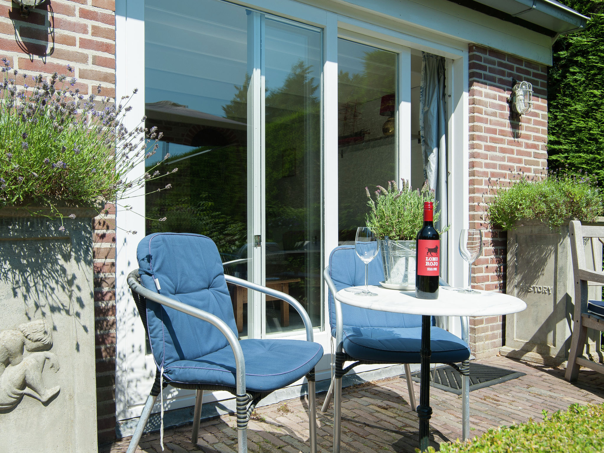 Holland | North Sea Coast North | Holiday home Koningshof | all year | TerraceBalcony