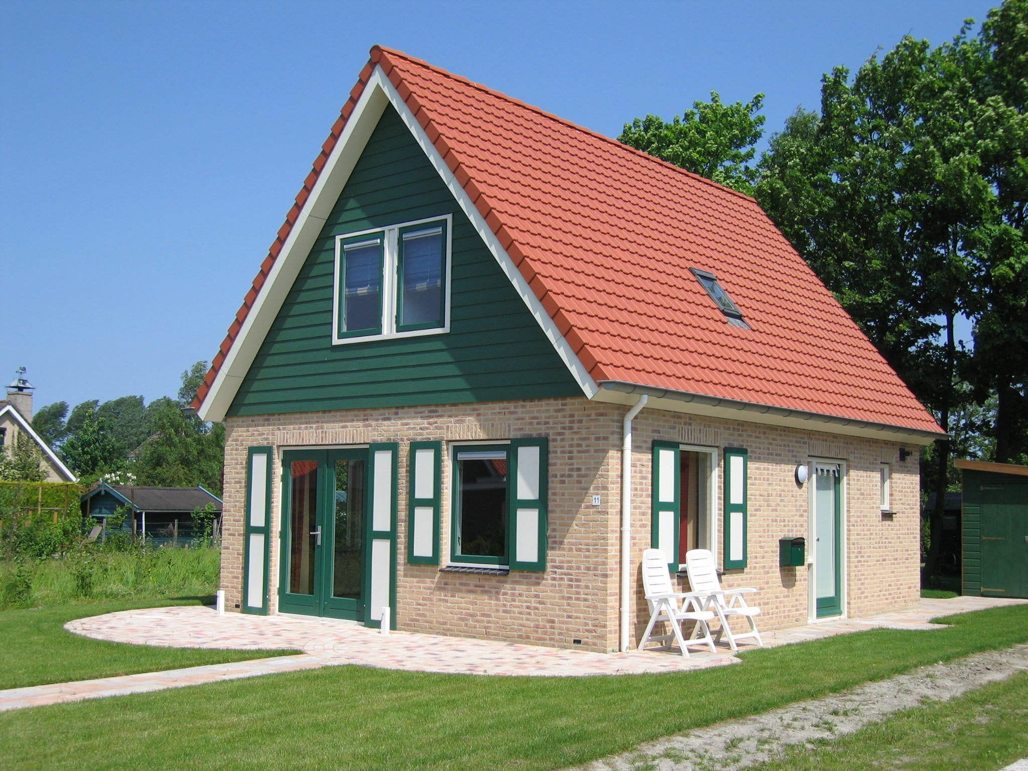 Holland | Zeeland | Holiday home Van der Vlies | all year | ExteriorSummer