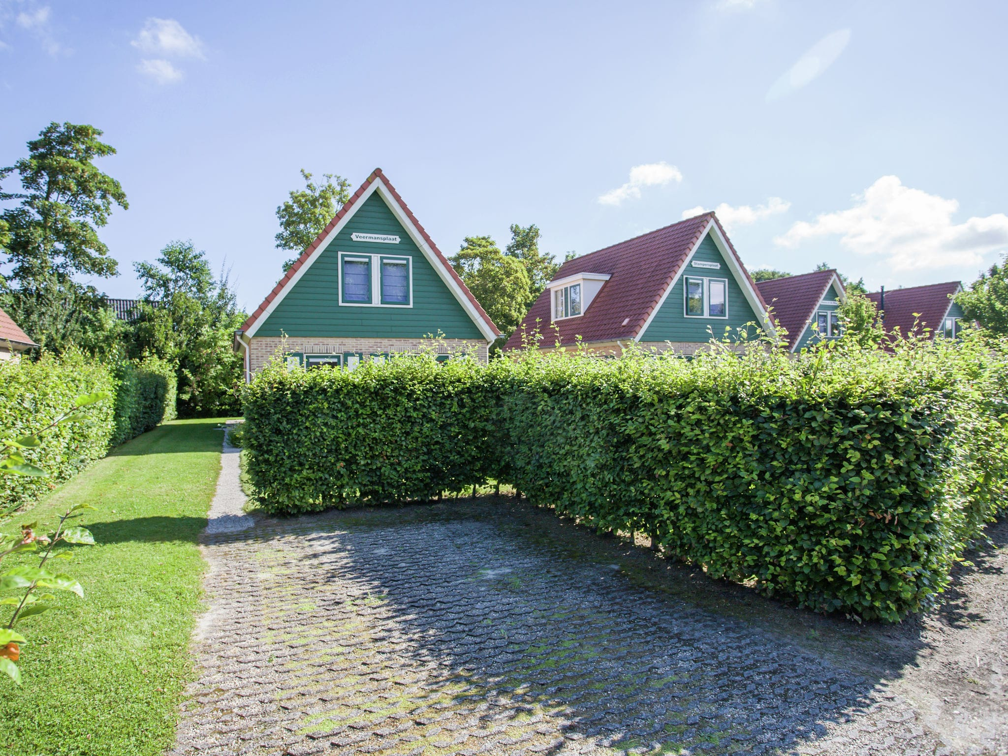 Holland | Zeeland | Holiday home Veermansplaat | all year | ExteriorSummer