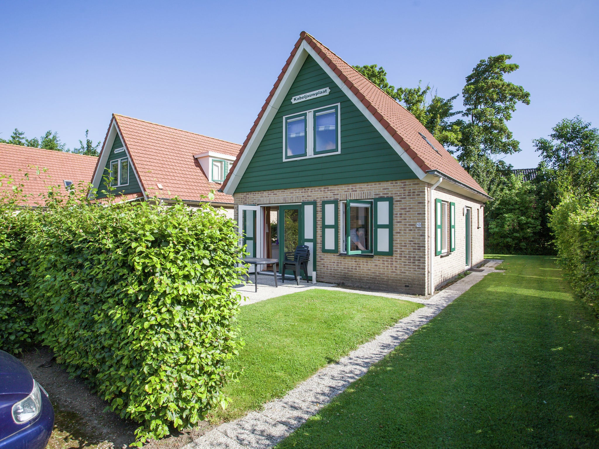 Holland | Zeeland | Holiday home Kabeljauwplaat | all year | ExteriorSummer