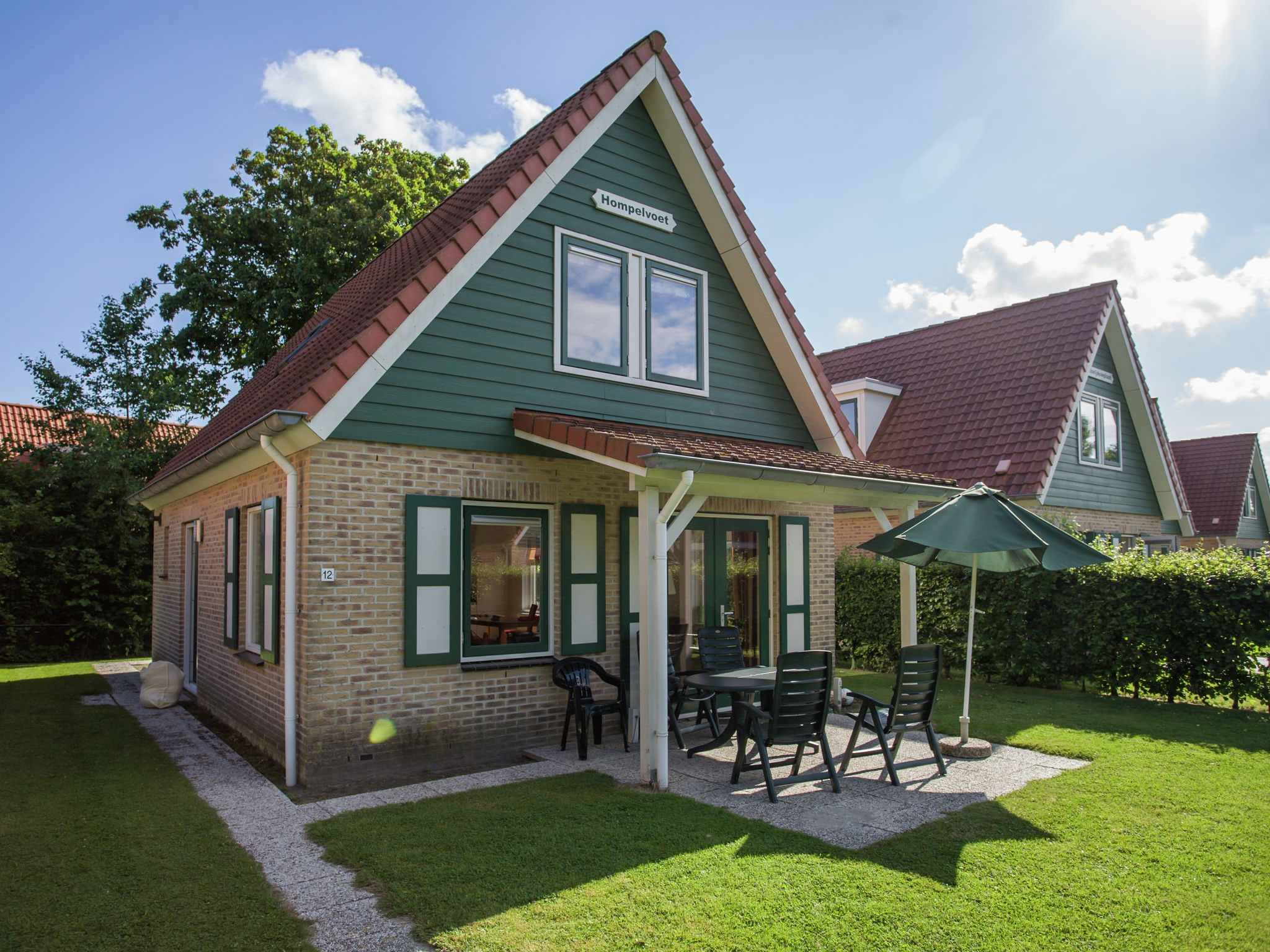 Holland | Zeeland | Holiday home Hompelvoet | all year | ExteriorSummer