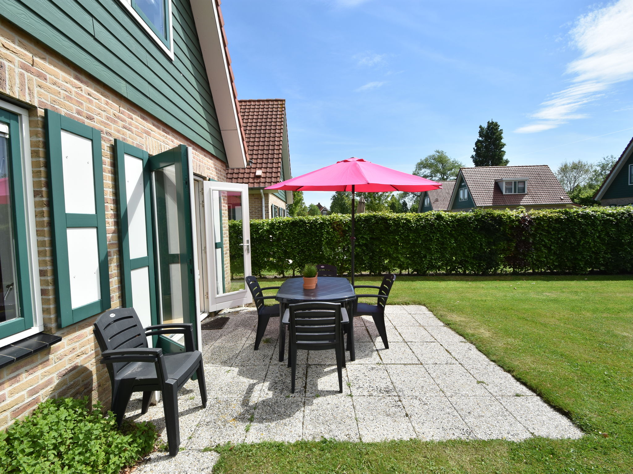 Holland | Zeeland | Holiday home Hompelvoet | all year | TerraceBalcony
