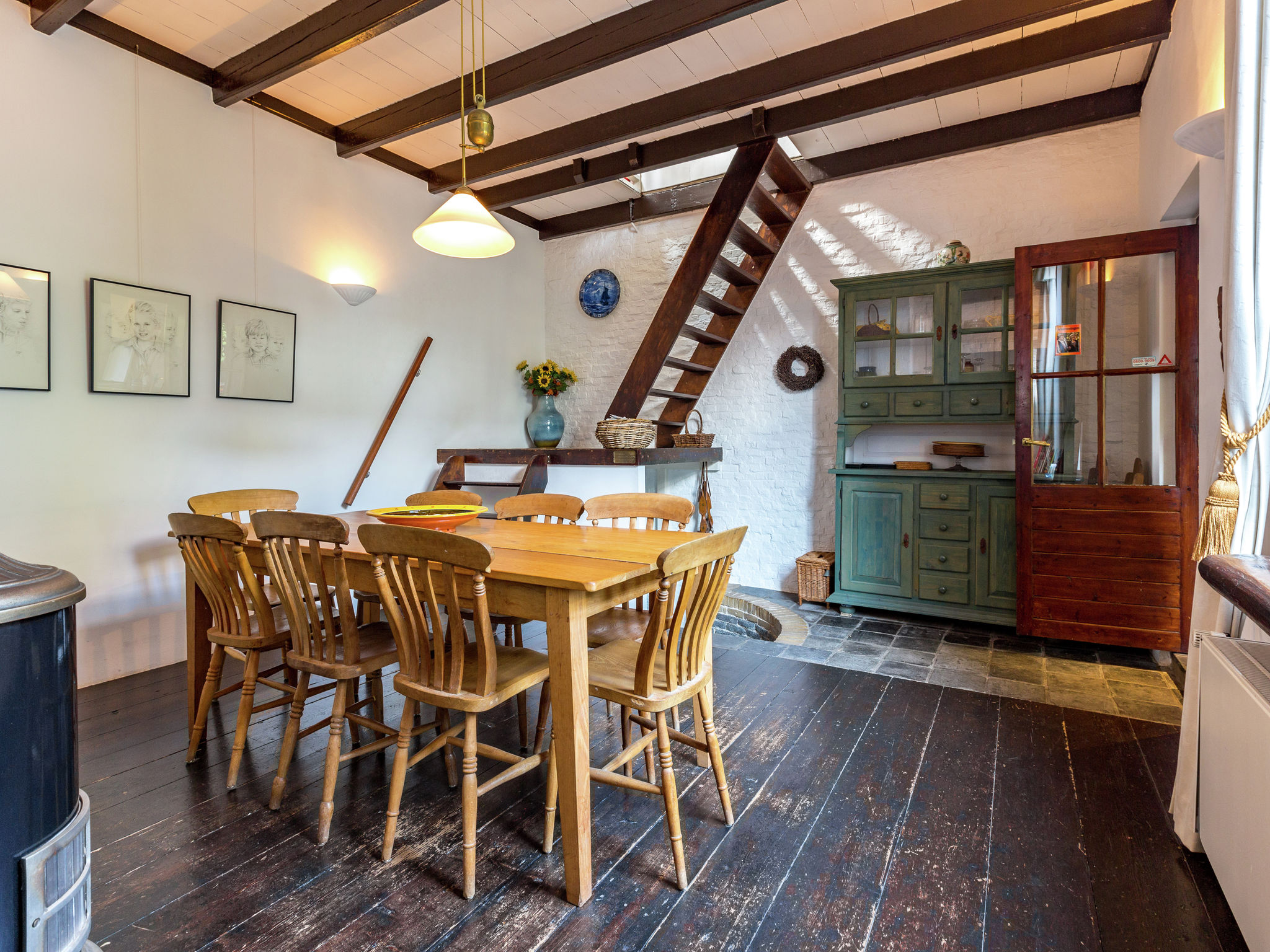 Holland | North Sea Coast South | Holiday home Le Pecheur | all year | DiningRoom