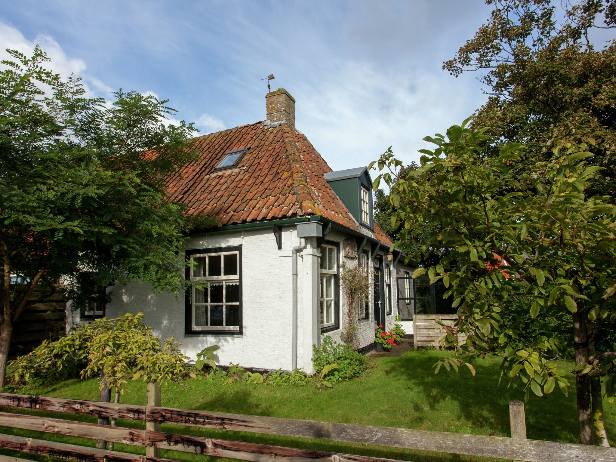 Holland | Wad Islands | Holiday home Anno 1711 | all year | ExteriorSummer