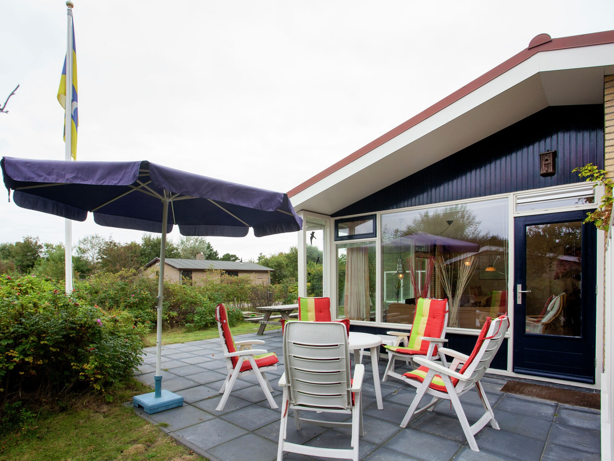 Holland | Wad Islands | Holiday home La Gaviota | all year | TerraceBalcony