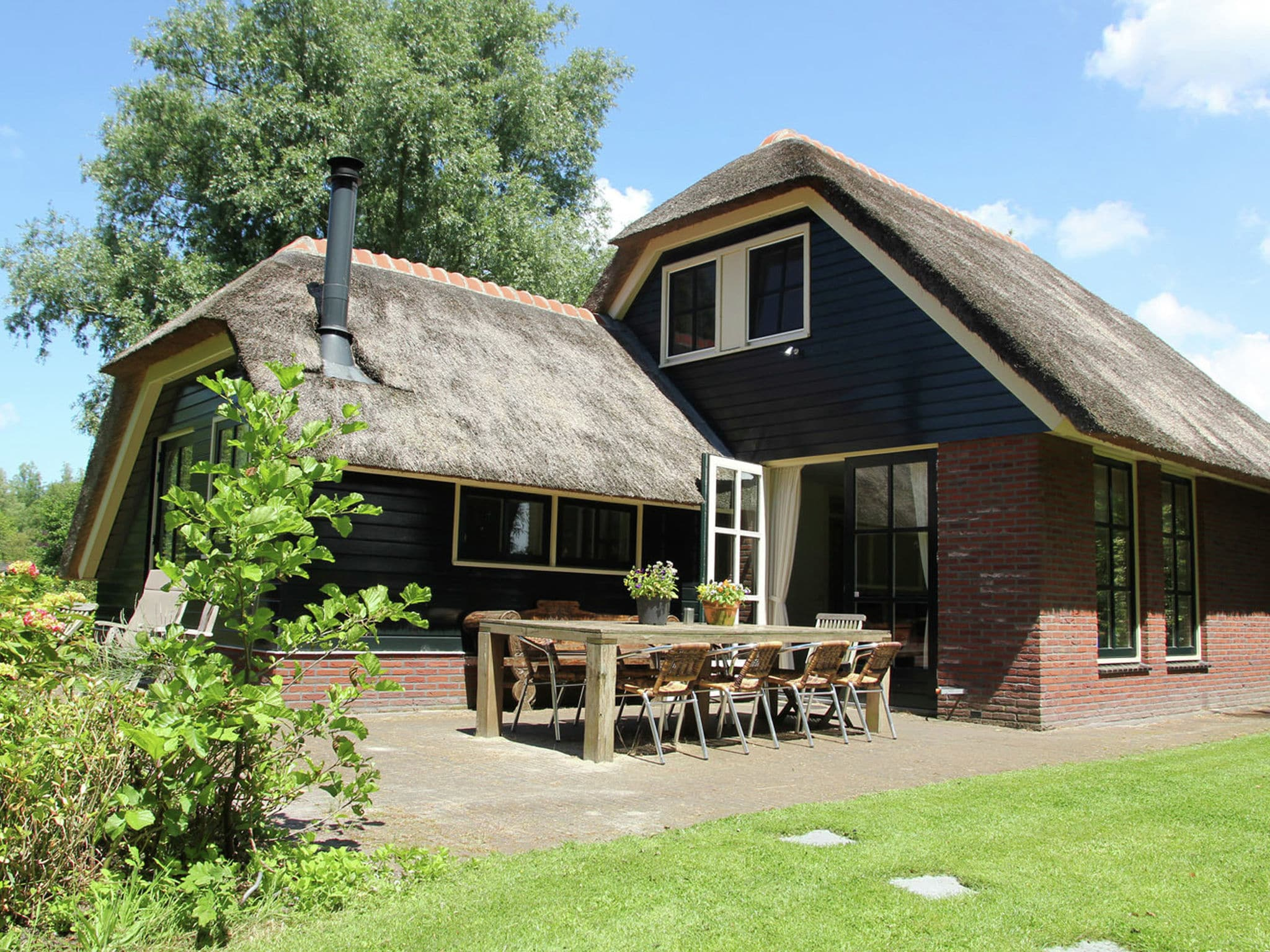 Holland | North Sea Coast North | Holiday home The Island | all year | TerraceBalcony