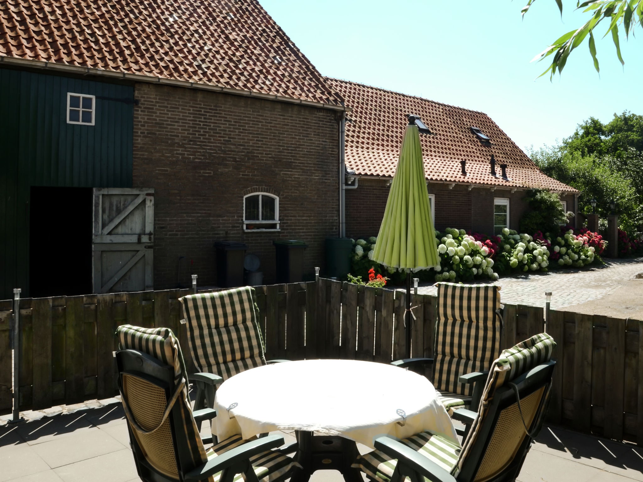 Holland | Zeeland | Holiday home Aan de Westhoek | all year | TerraceBalcony