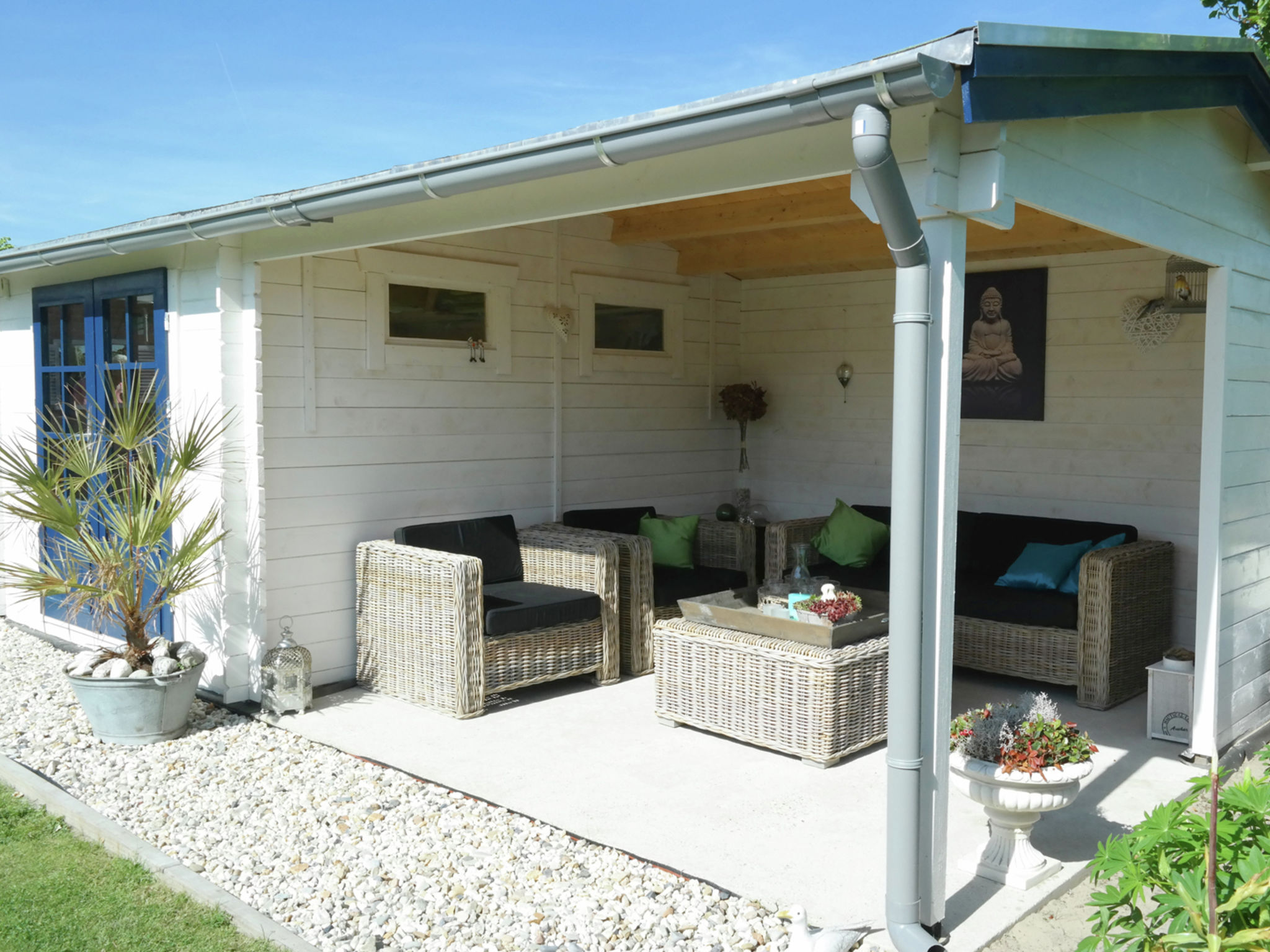 Holland | North Sea Coast North | Holiday home Buenaventura | all year | TerraceBalcony