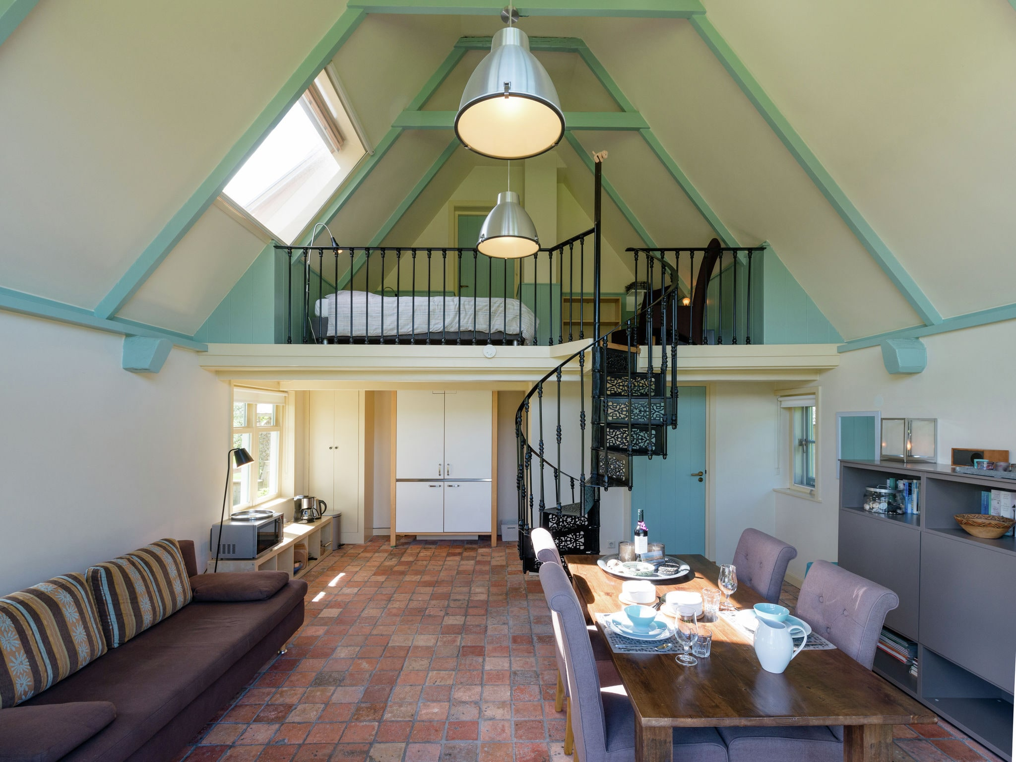 Holland | North Sea Coast North | Holiday home 't Achterhuis op Vatrop | all year | LivingRoom