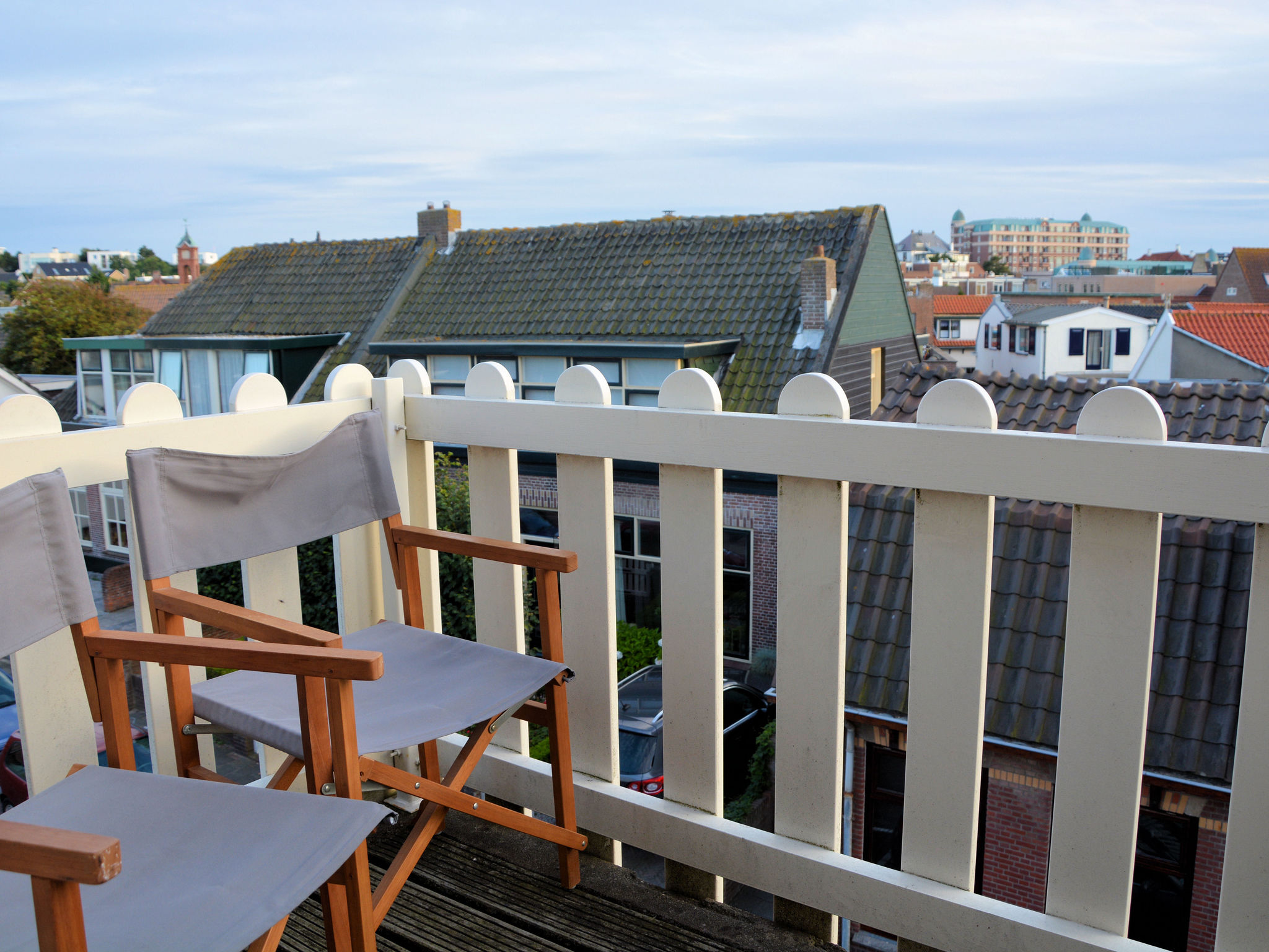 Holland | North Sea Coast South | Holiday home Frederique | all year | TerraceBalcony