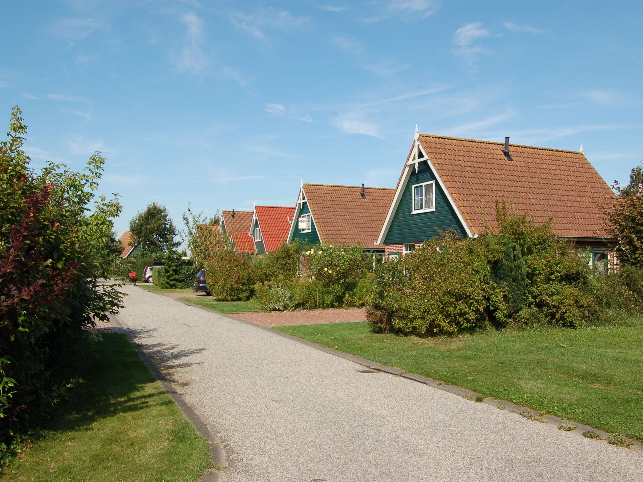 Holland | North Sea Coast South | Holiday home Hellegat | all year | ExteriorSummer