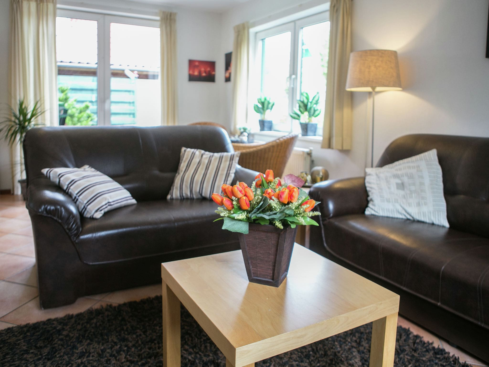 Holland | North Sea Coast South | Holiday home Hellegat | all year | LivingRoom