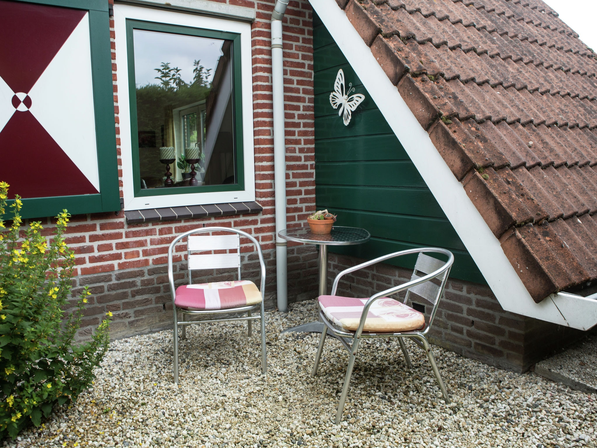 Holland | North Sea Coast South | Holiday home Hellegat | all year | TerraceBalcony