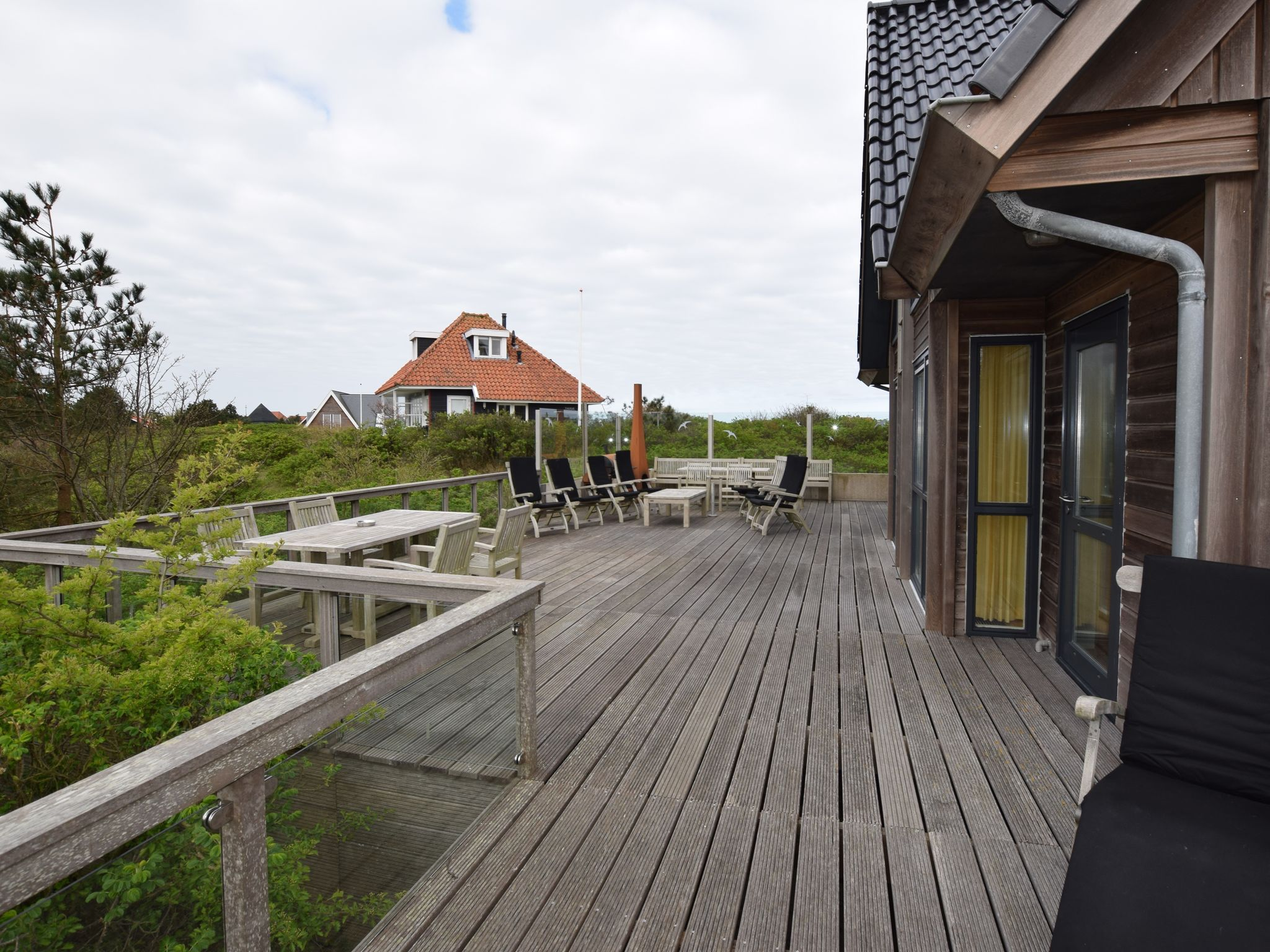 Holland | Wad Islands | Holiday home Villa Vlieland | all year | GardenWinter