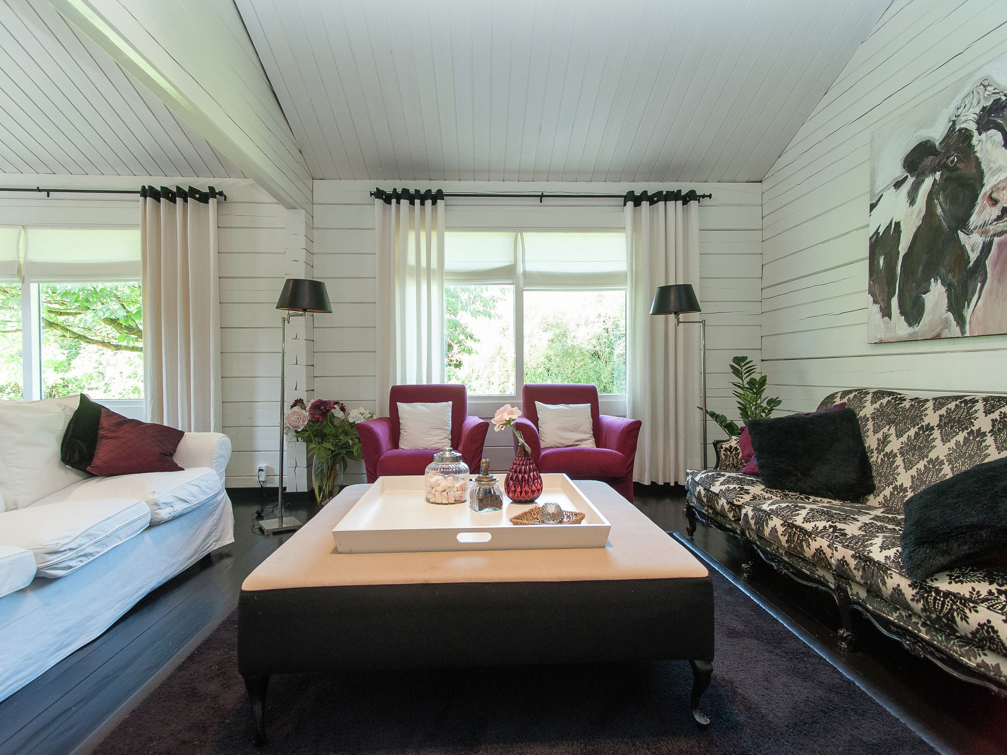 Holland | North Sea Coast North | Holiday home Red Cedar | all year | LivingRoom