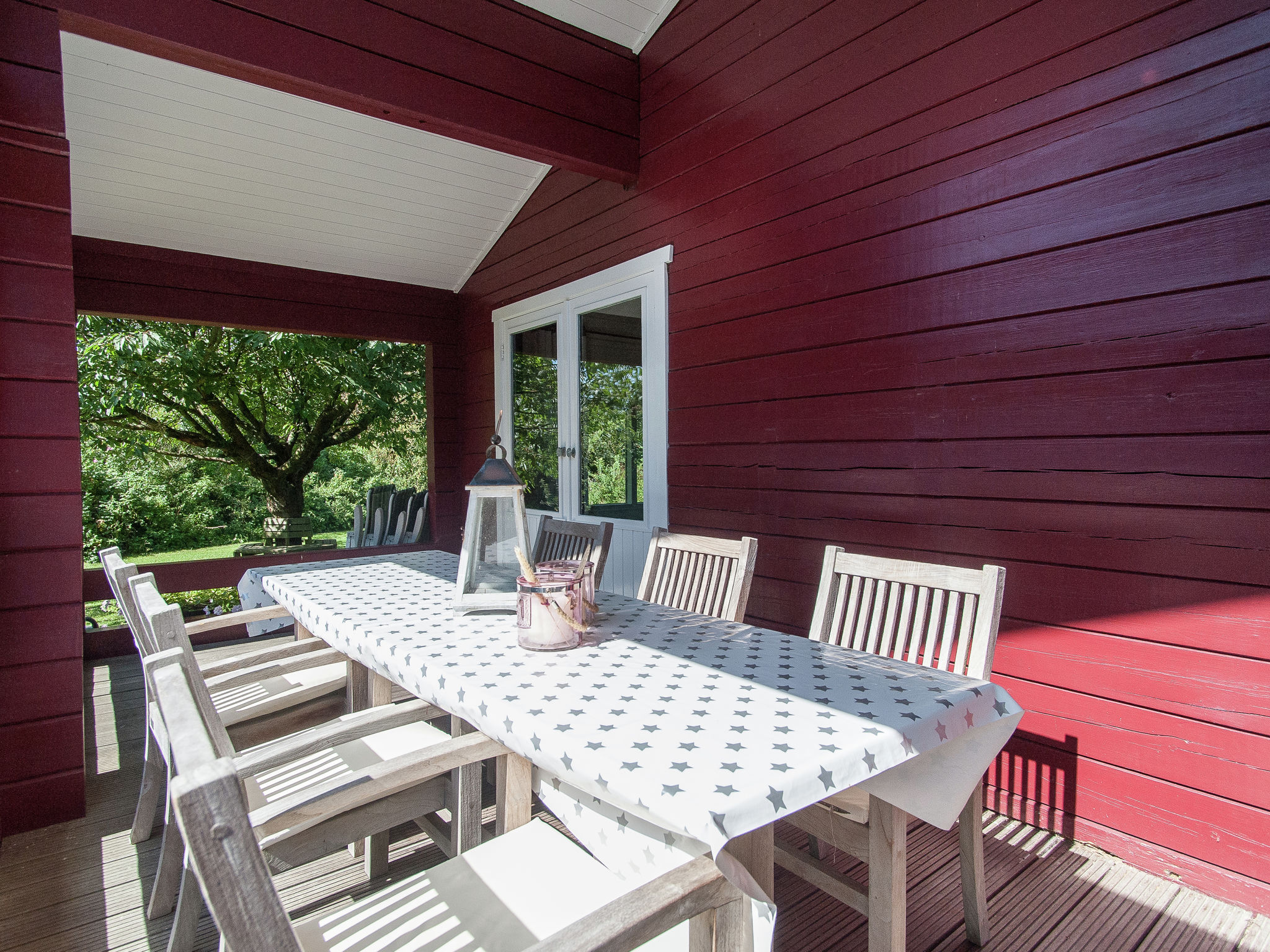 Holland | North Sea Coast North | Holiday home Red Cedar | all year | TerraceBalcony