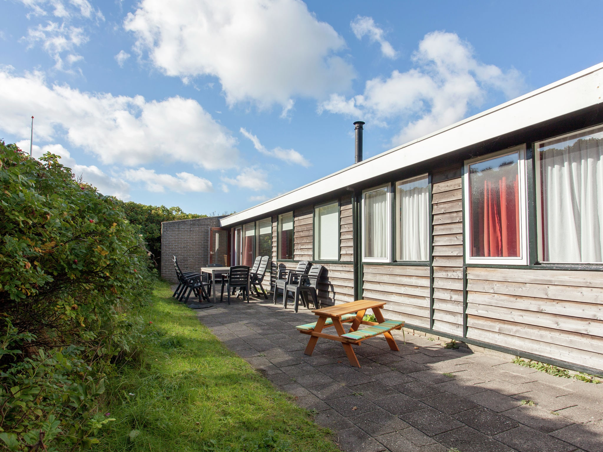 Holland | Wad Islands | Holiday home In 't Zand | all year | TerraceBalcony