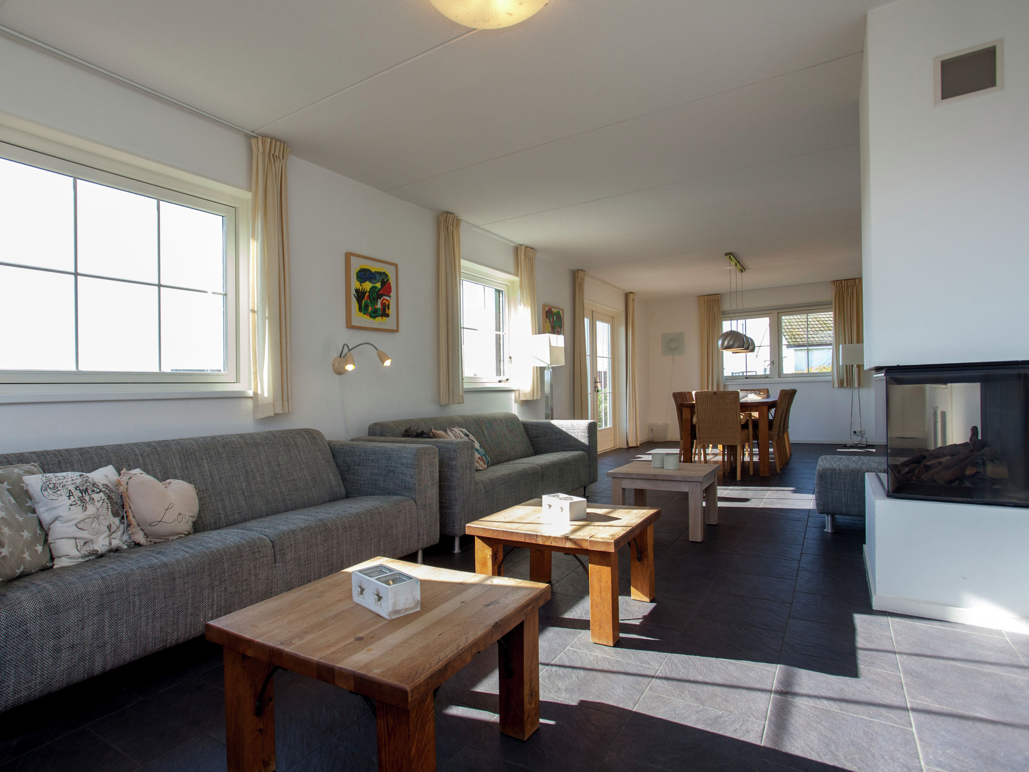 Holland | Wad Islands | Holiday home Villa Zeegras | all year | LivingRoom