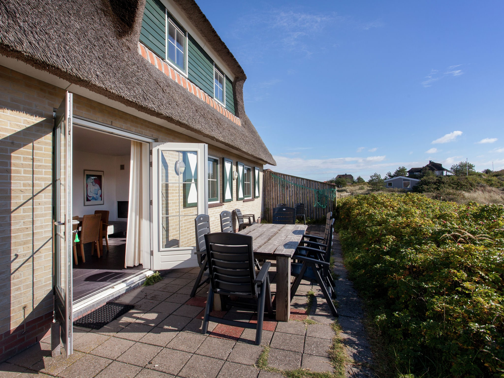 Holland | Wad Islands | Holiday home Villa Zeegras | all year | TerraceBalcony