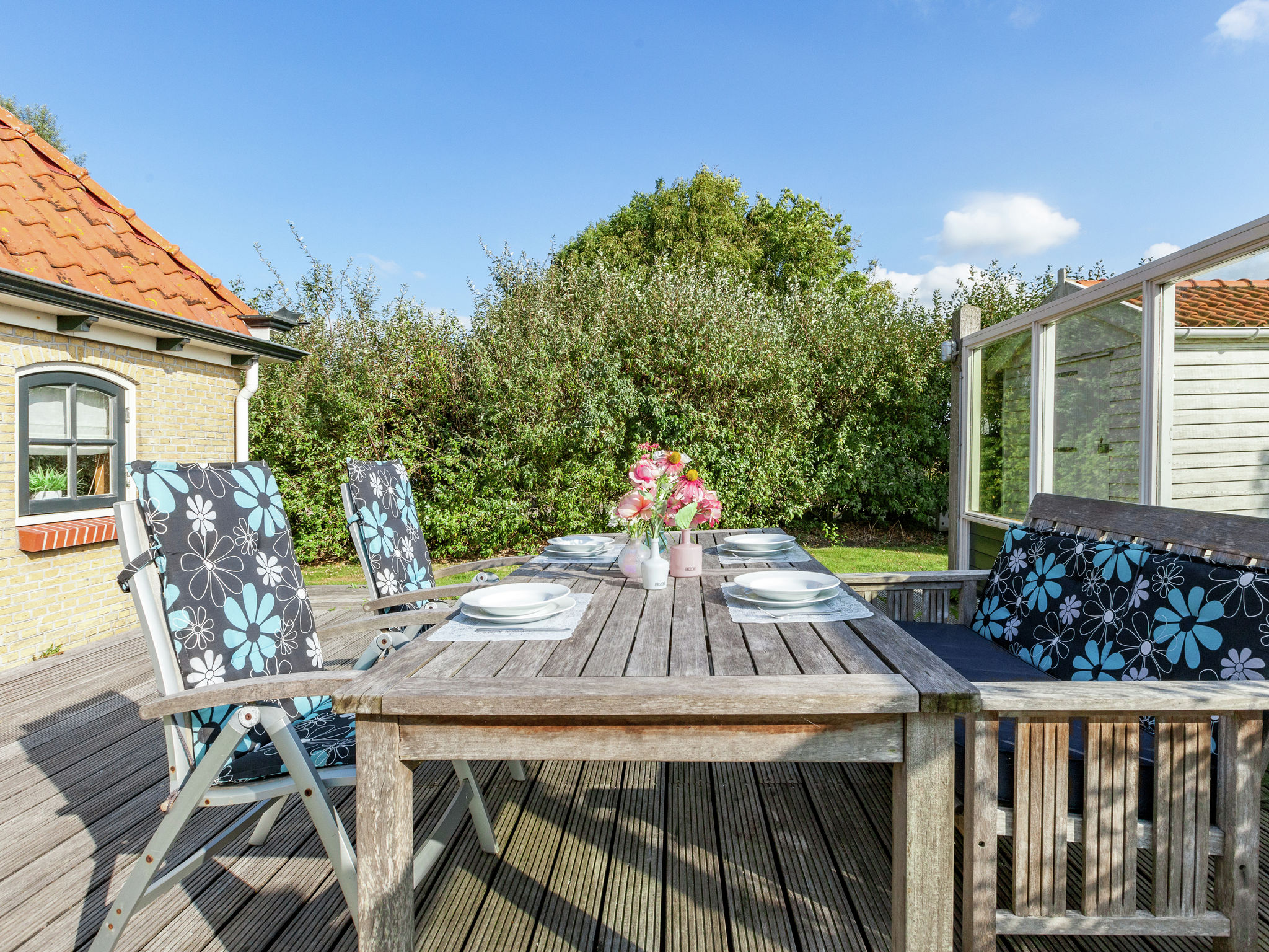 Holland | Friesland | Holiday home 't Friese Koetshuis | all year | TerraceBalcony