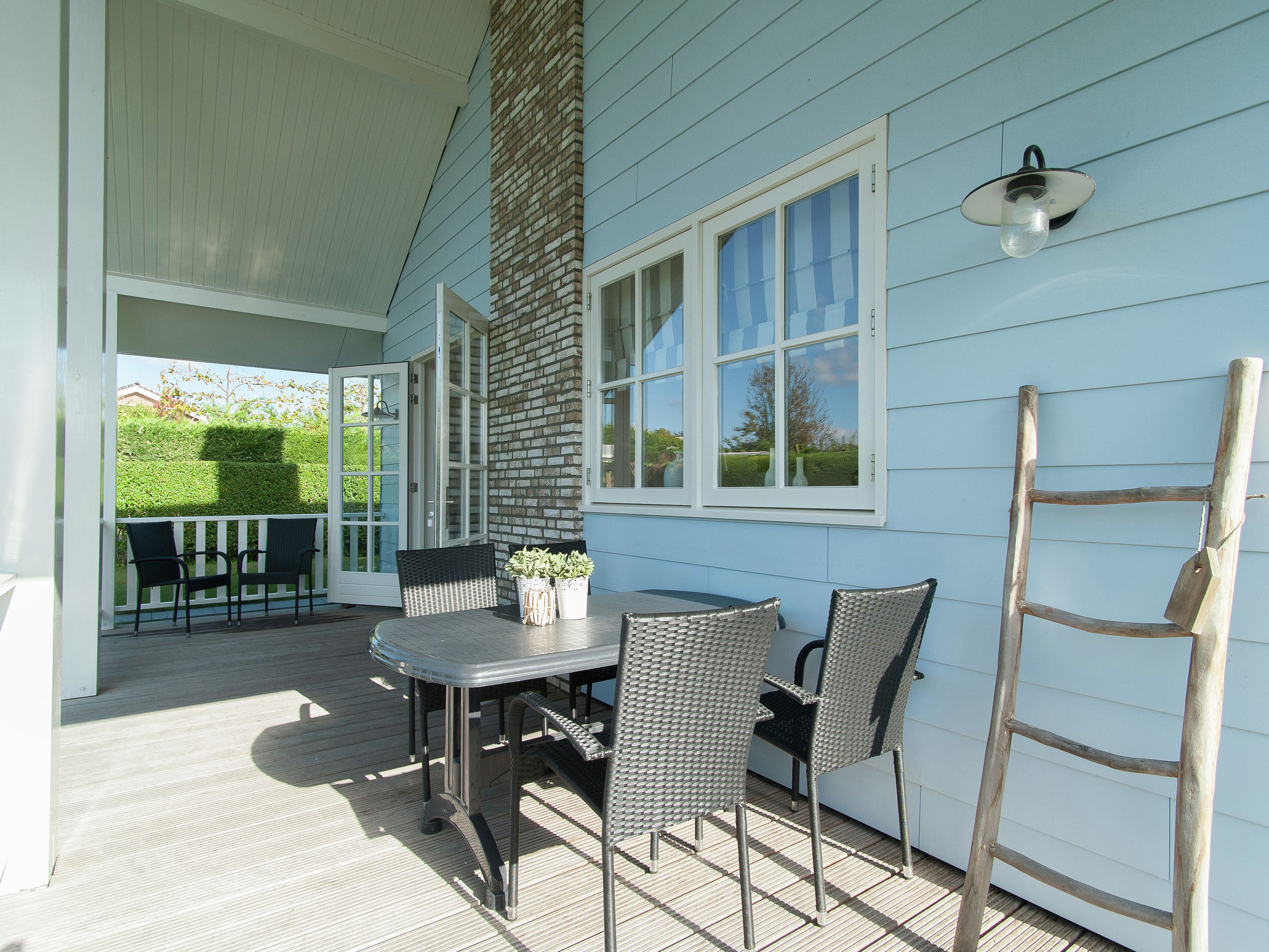 Holland | North Sea Coast South | Holiday home Bungalowpark de Gouden Spar - Duin Bungalow | all year | TerraceBalcony