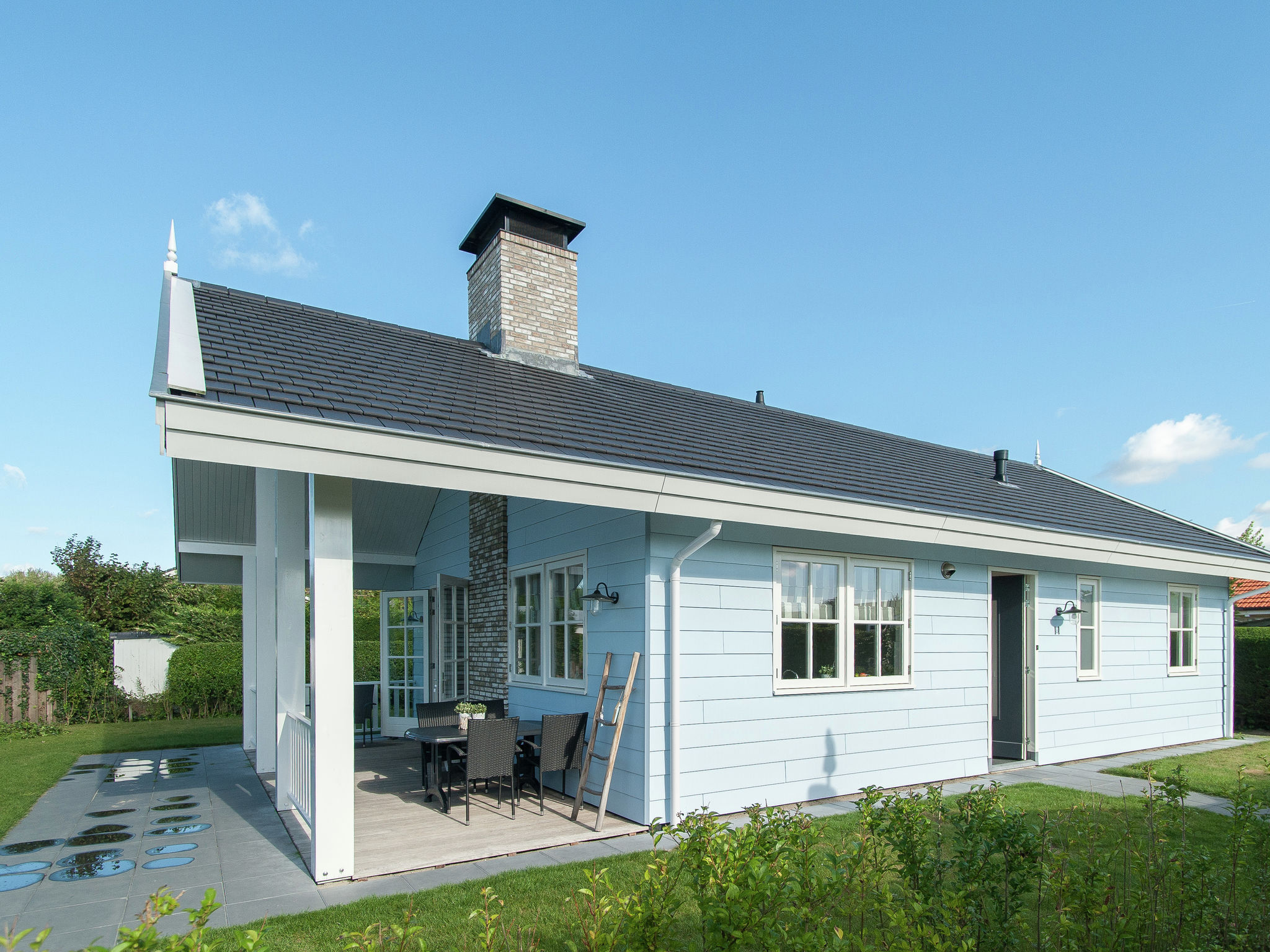 Holland | North Sea Coast South | Holiday home Bungalowpark de Gouden Spar - Duin Bungalow | all year | ExteriorSummer
