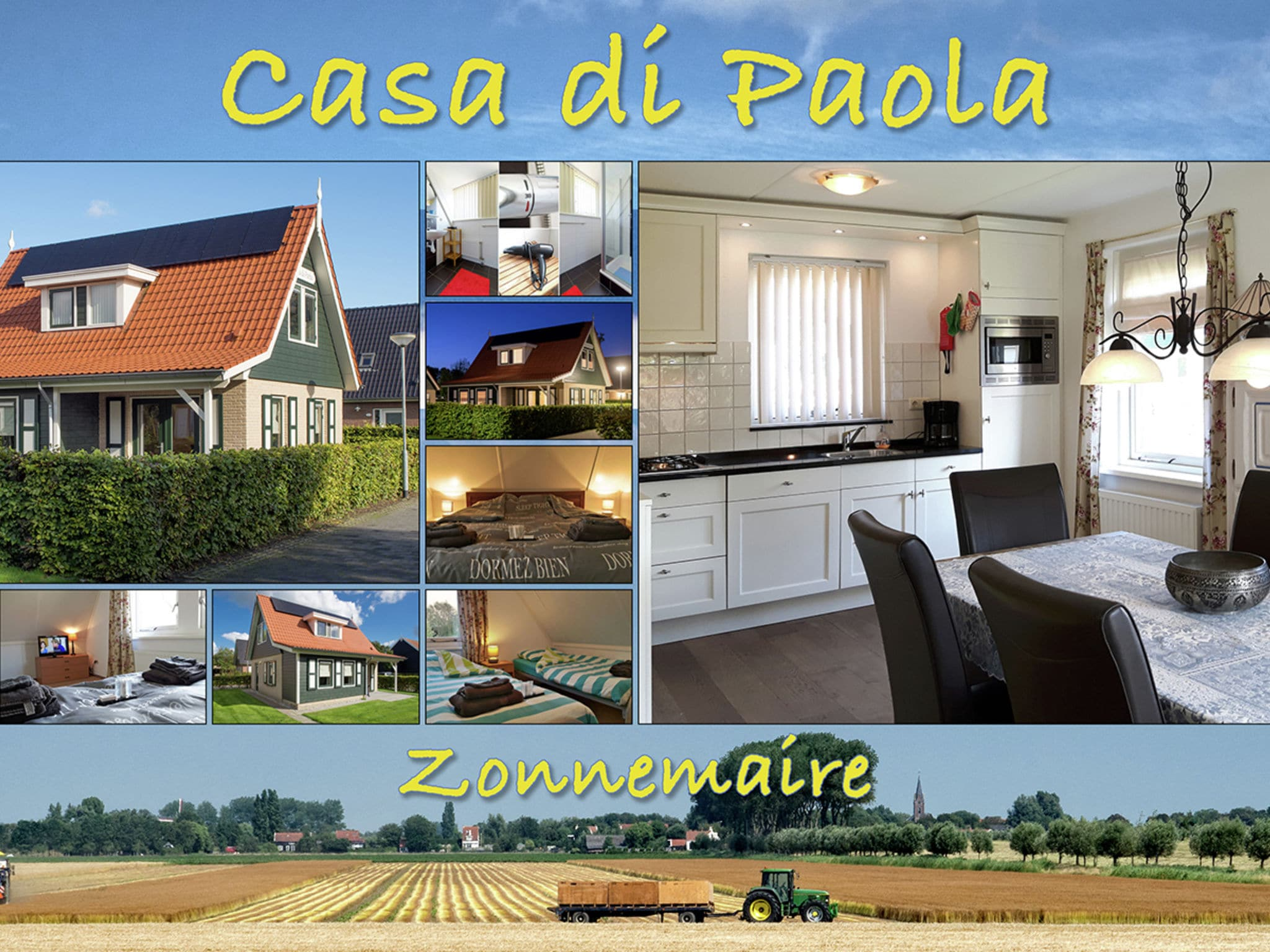 Holland | Zeeland | Holiday home Paola | all year | ExteriorSummer