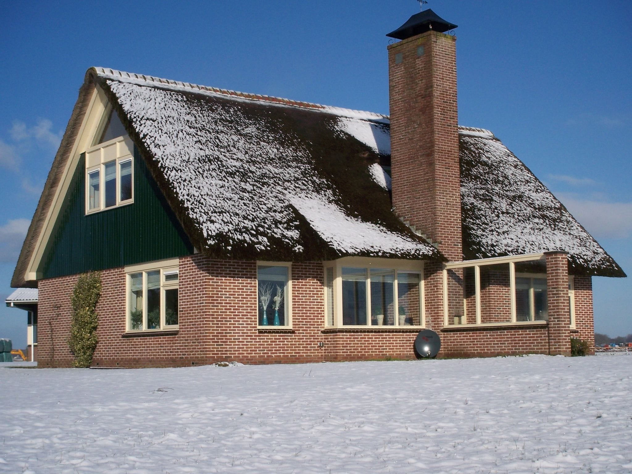 Holland | North Sea Coast North | Holiday home Groene Weide | all year | ExteriorWinter
