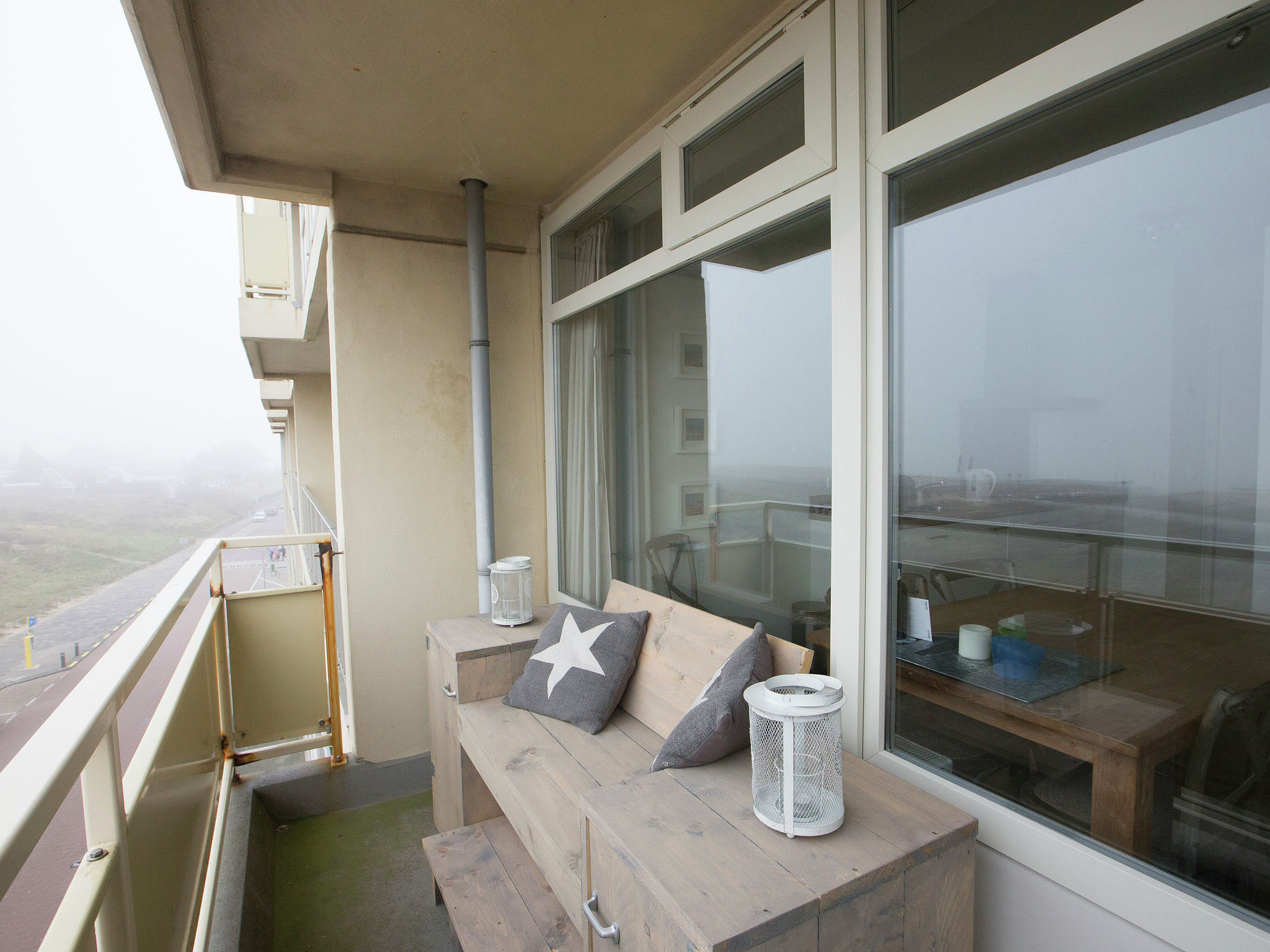 Holland | North Sea Coast South | Holiday home @ the Lighthouse | all year | TerraceBalcony