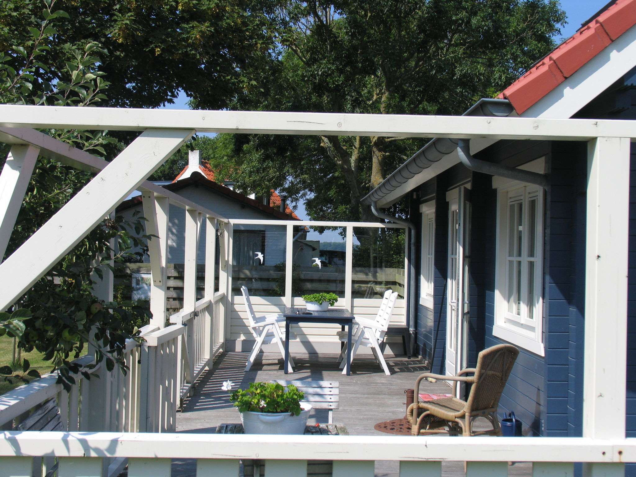 Holland | Wad Islands | Holiday home 't Blauwe Huus | all year | GardenSummer