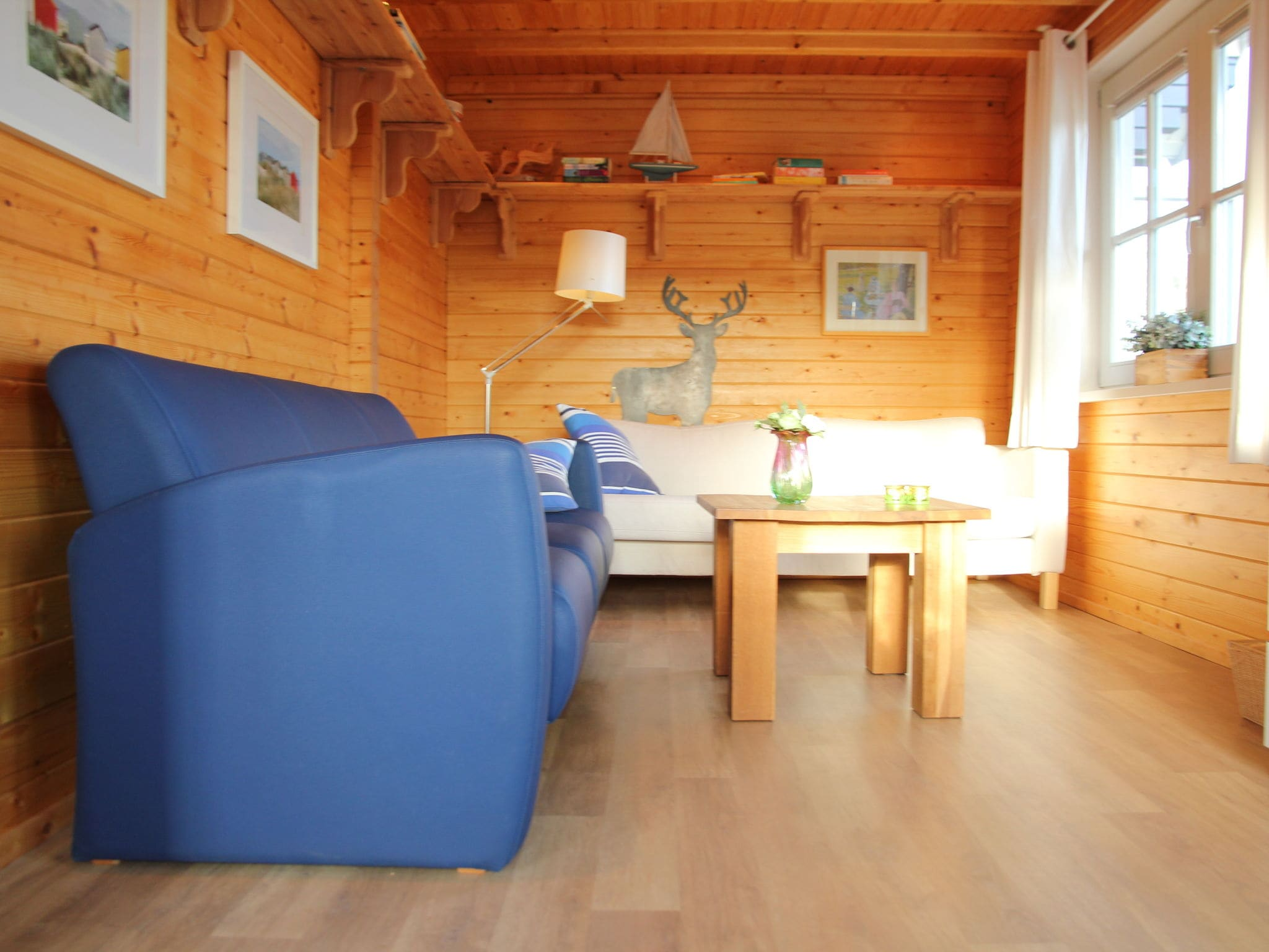 Holland | Wad Islands | Holiday home 't Blauwe Huus | all year | LivingRoom