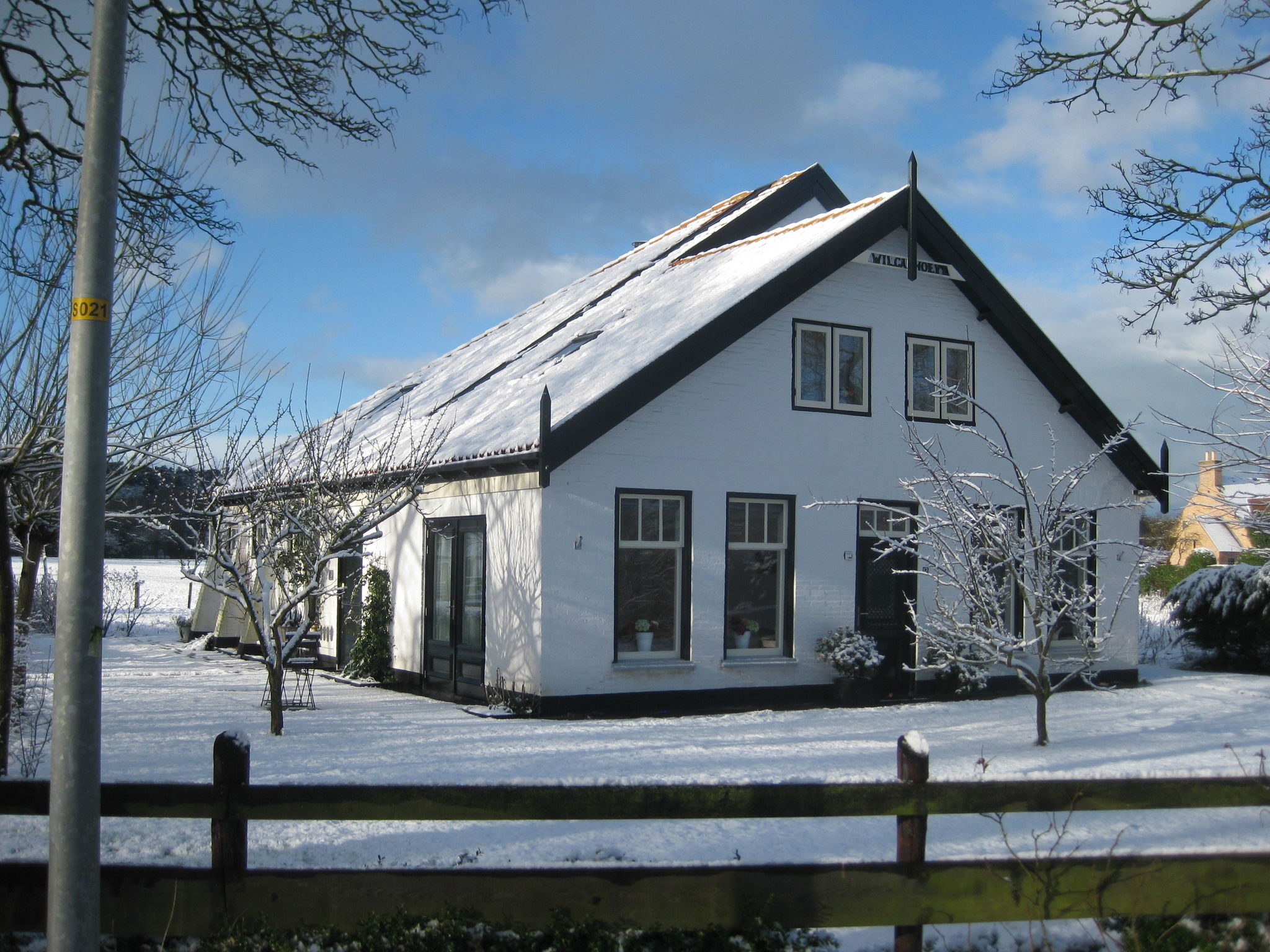 Holland | North Sea Coast North | Holiday home Wilca Hoeve | all year | ExteriorWinter