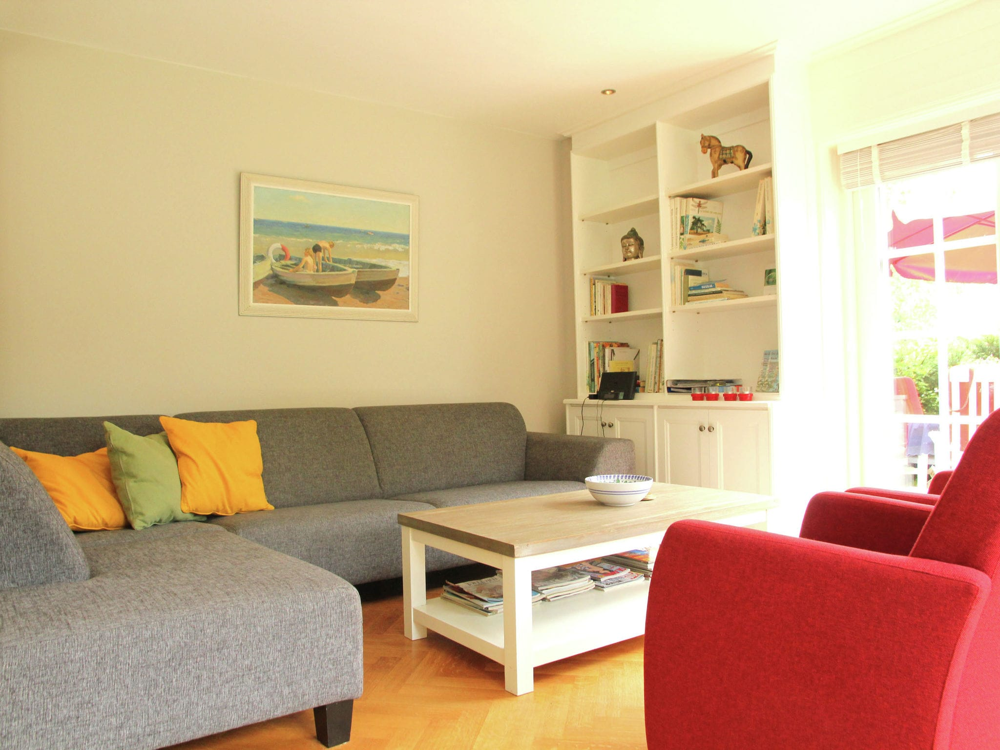 Holland | North Sea Coast North | Holiday home de Groene Specht | all year | LivingRoom