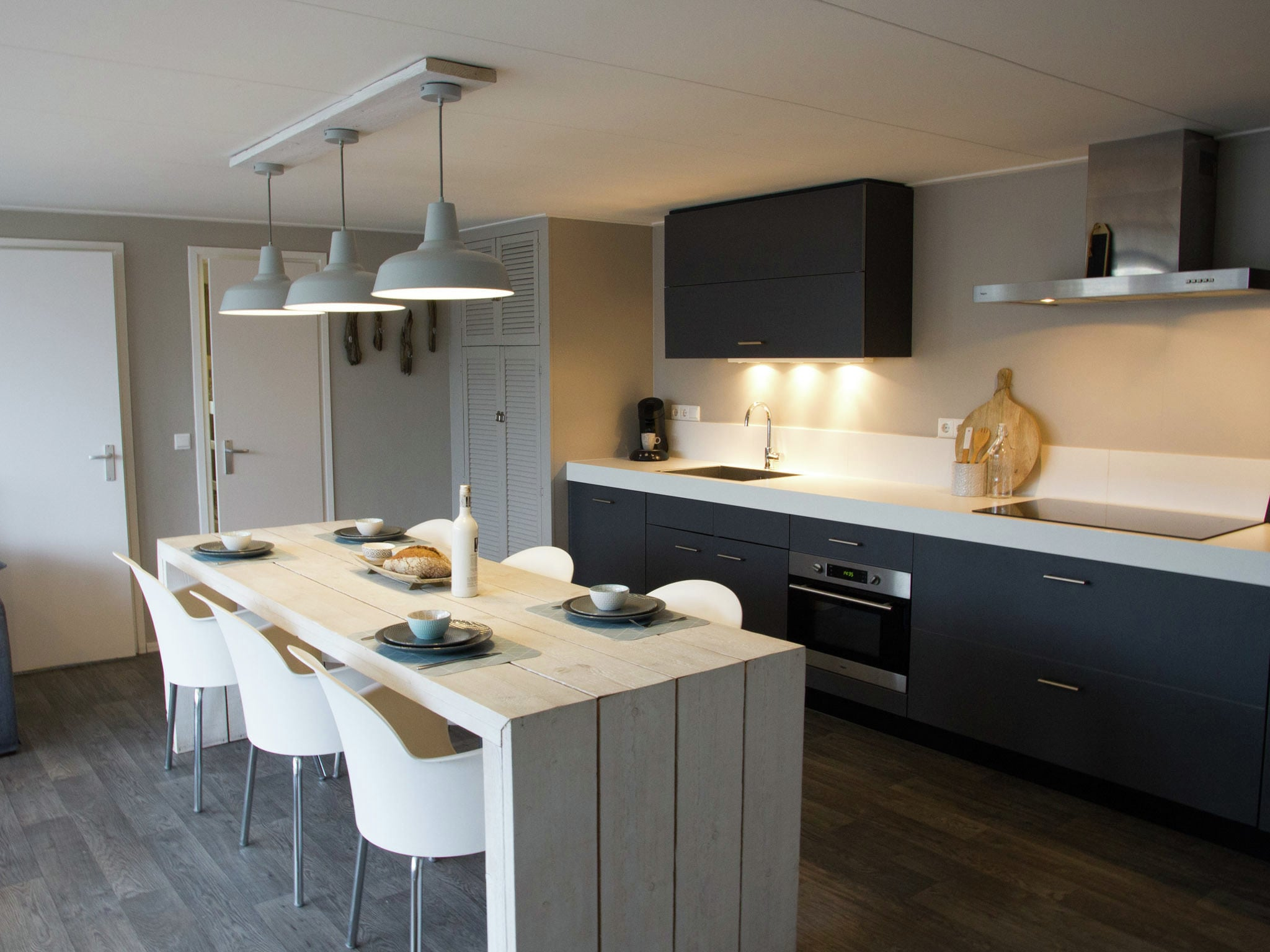 Holland | Zeeland | Holiday home Beachstyle @ the Sea | all year | Kitchen