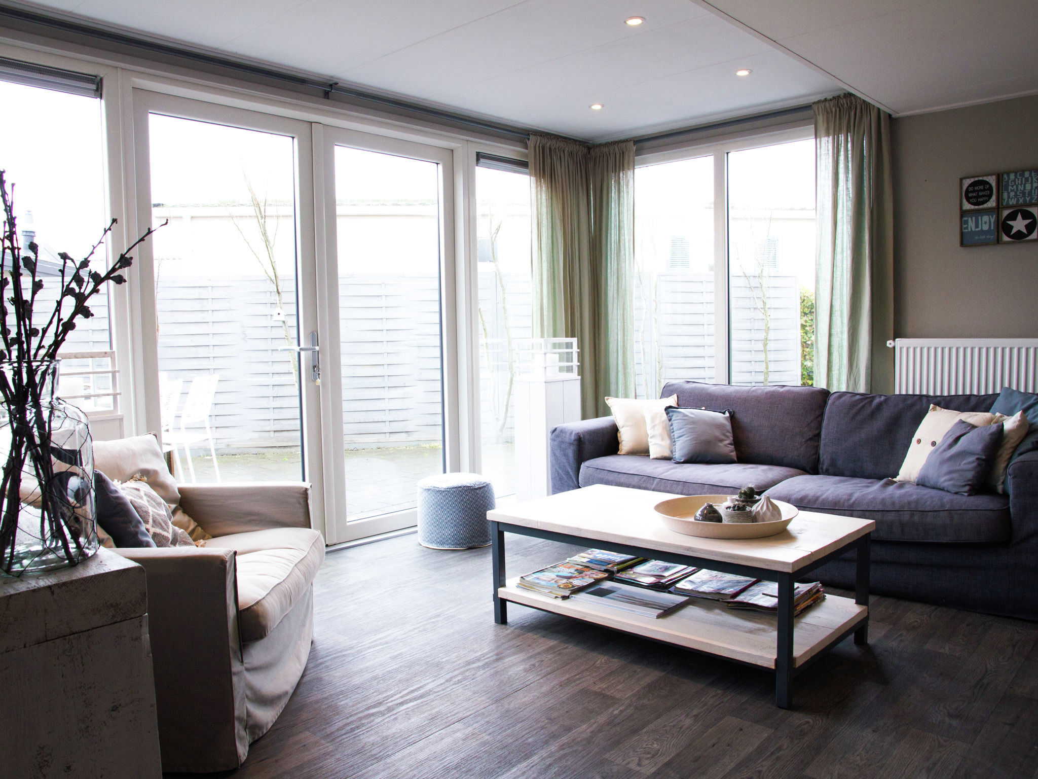 Holland | Zeeland | Holiday home Beachstyle @ the Sea | all year | LivingRoom
