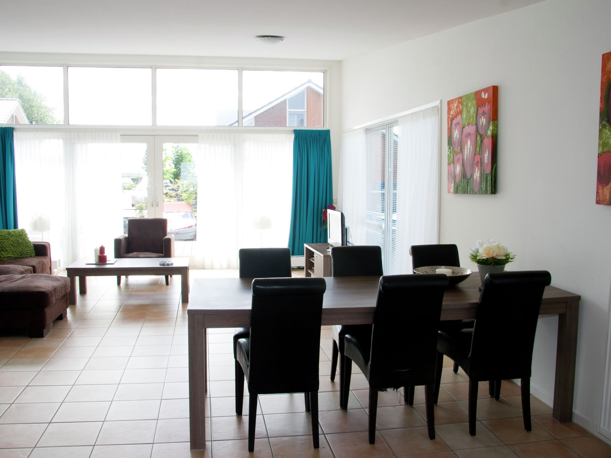Holland | North Sea Coast North | Holiday home Waterpark de Meerparel - Lake Boathouse | all year | LivingRoom
