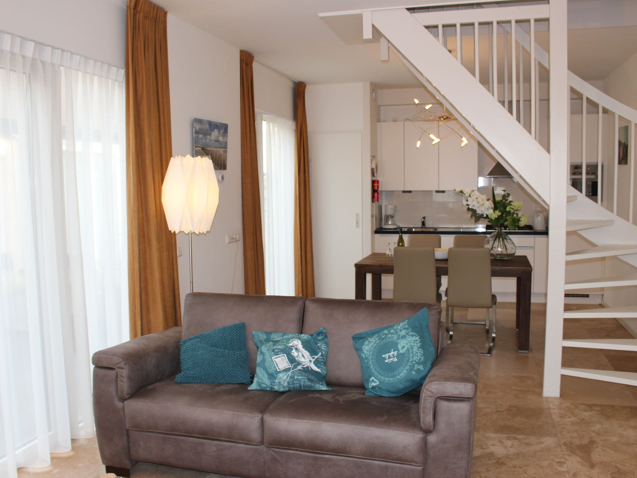 Holland | North Sea Coast North | Holiday home De ZeeParel - Sea Fish | all year | LivingRoom
