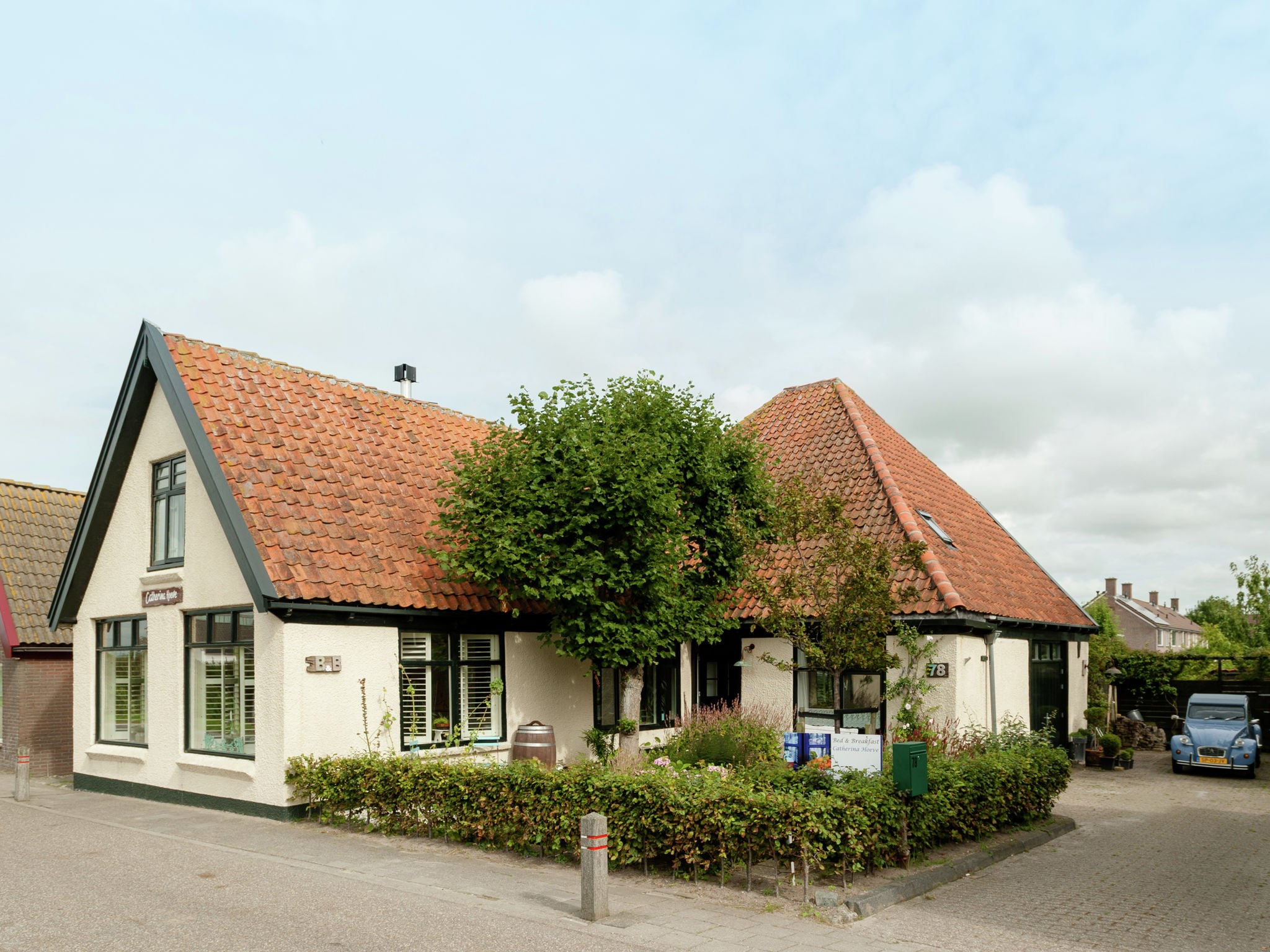 Holland | North Sea Coast North | Holiday home B&B Brocante | all year | ExteriorSummer