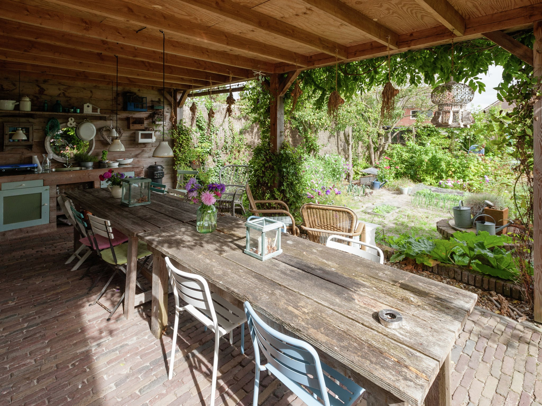Holland | North Sea Coast North | Holiday home B&B Brocante | all year | TerraceBalcony
