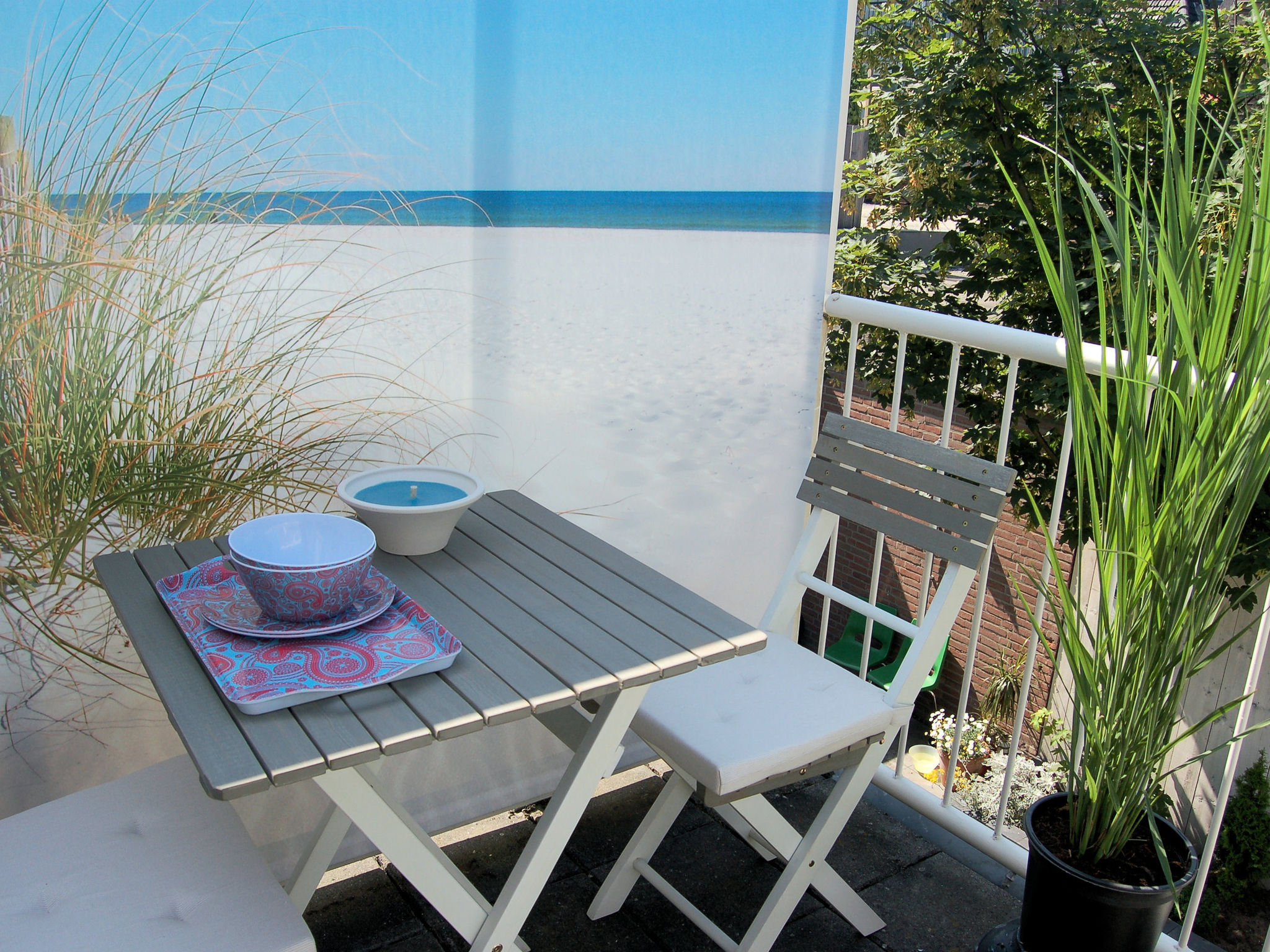 Holland | North Sea Coast South | Holiday home Marcellis | all year | TerraceBalcony